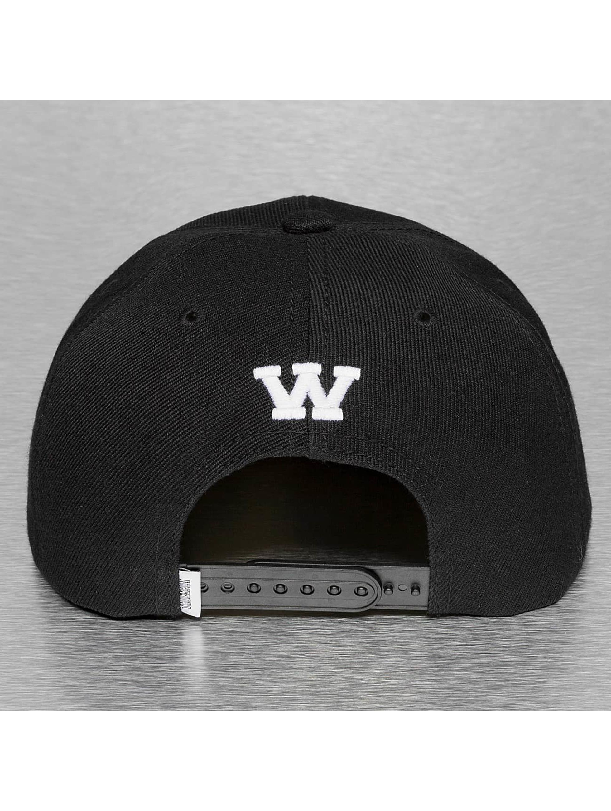 TrueSpin Snapback Cap W-ABC schwarz