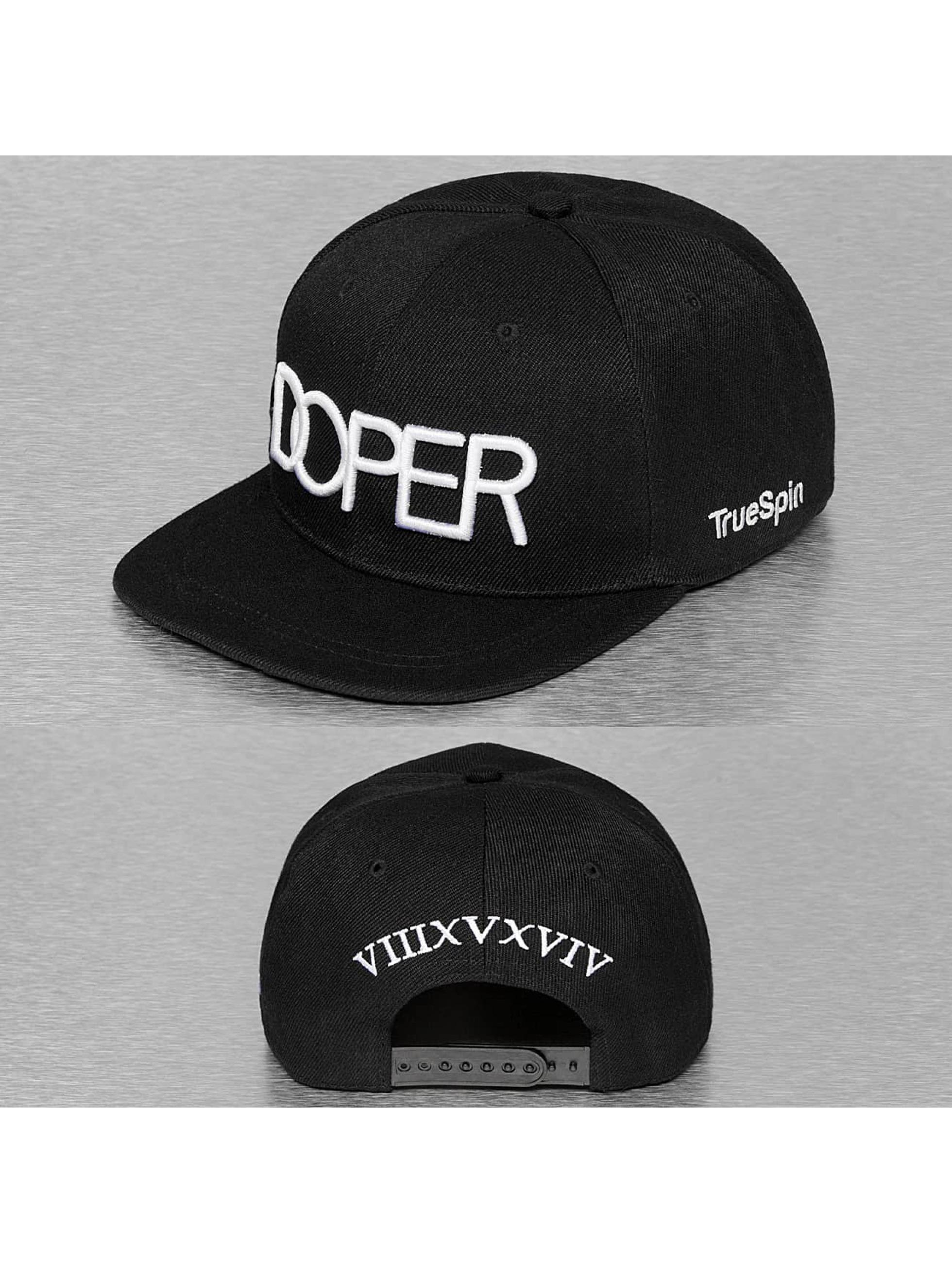 TrueSpin Snapback Cap Doper schwarz