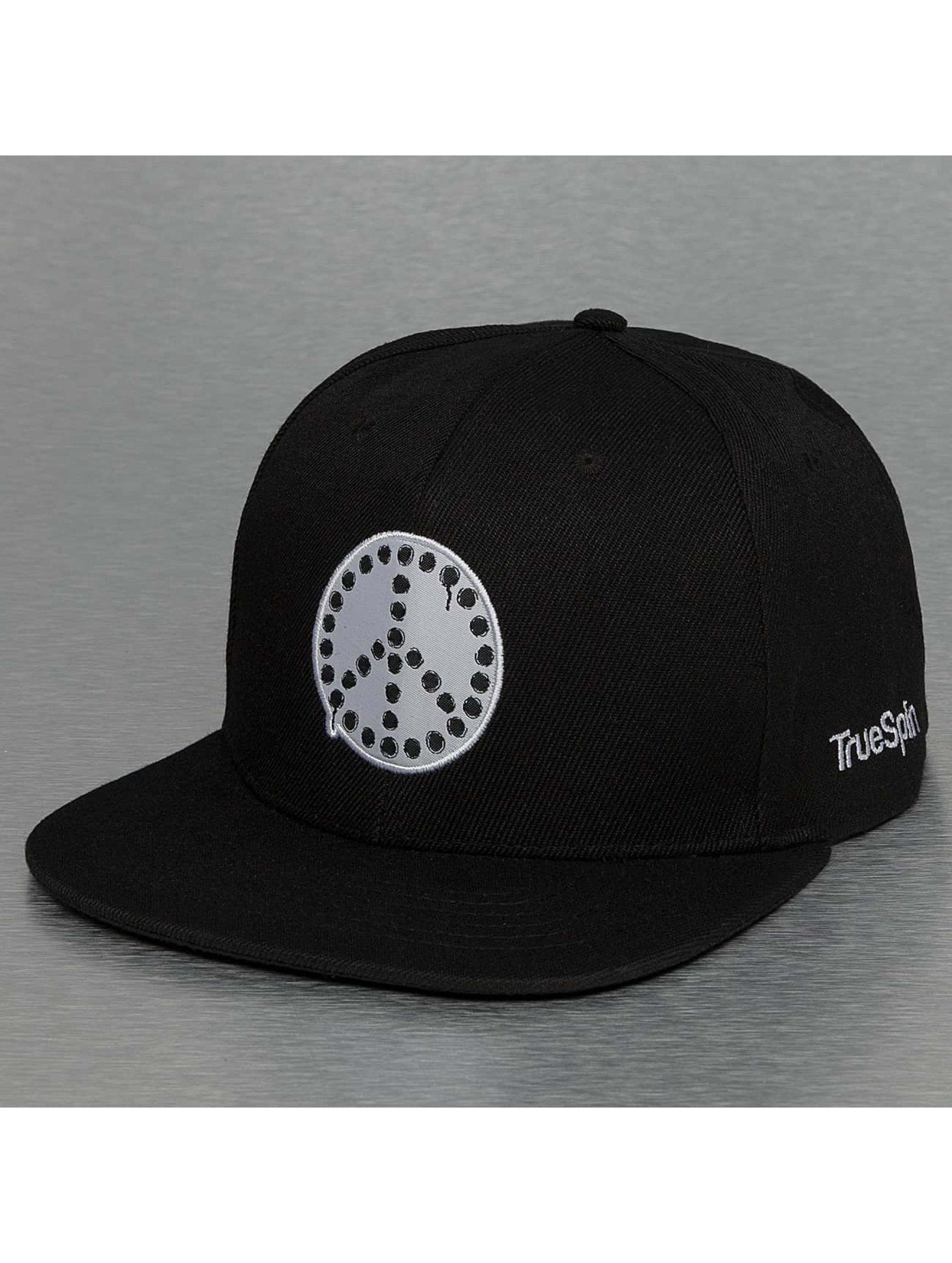 TrueSpin Snapback Cap Anti Peace schwarz