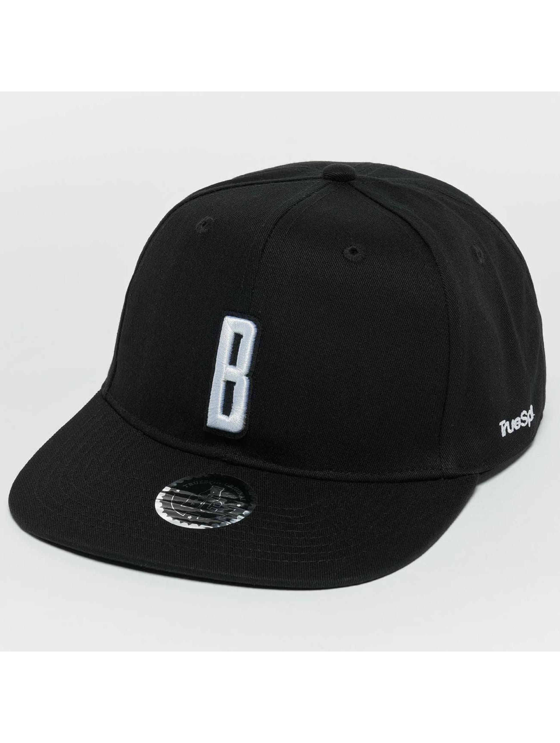 TrueSpin Snapback Cap ABC B schwarz