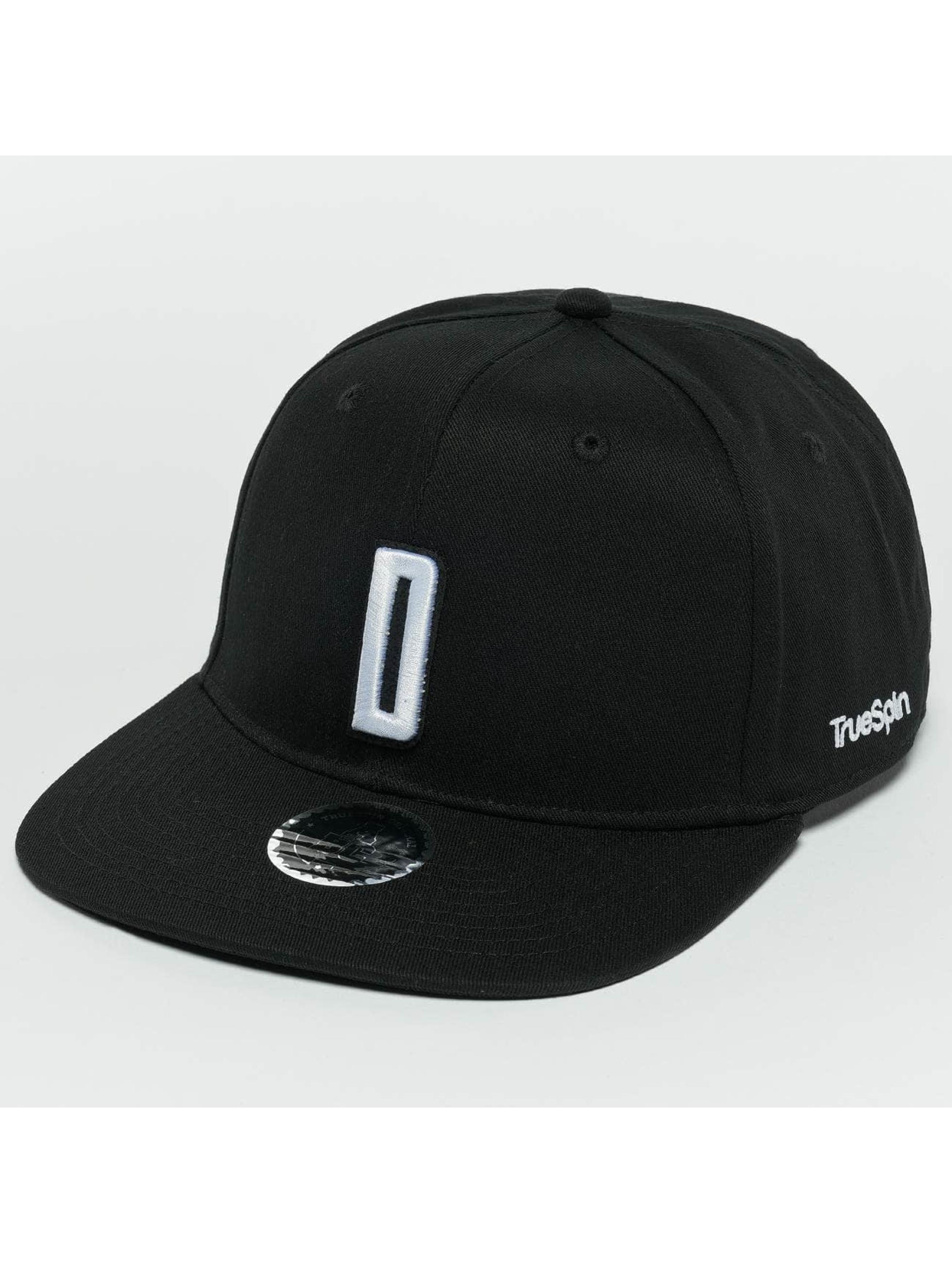TrueSpin Snapback Cap ABC D schwarz