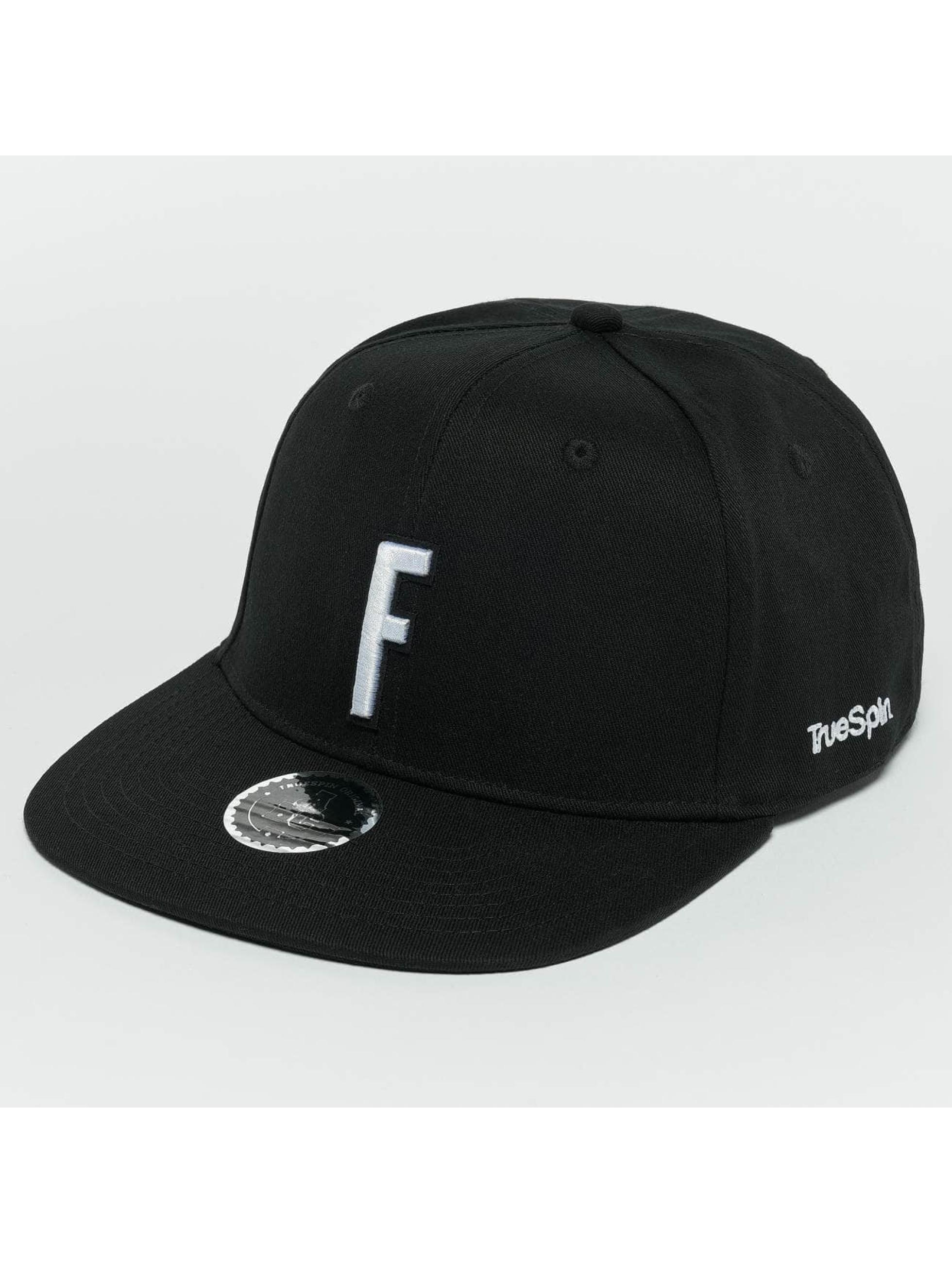 TrueSpin Snapback Cap ABC F schwarz