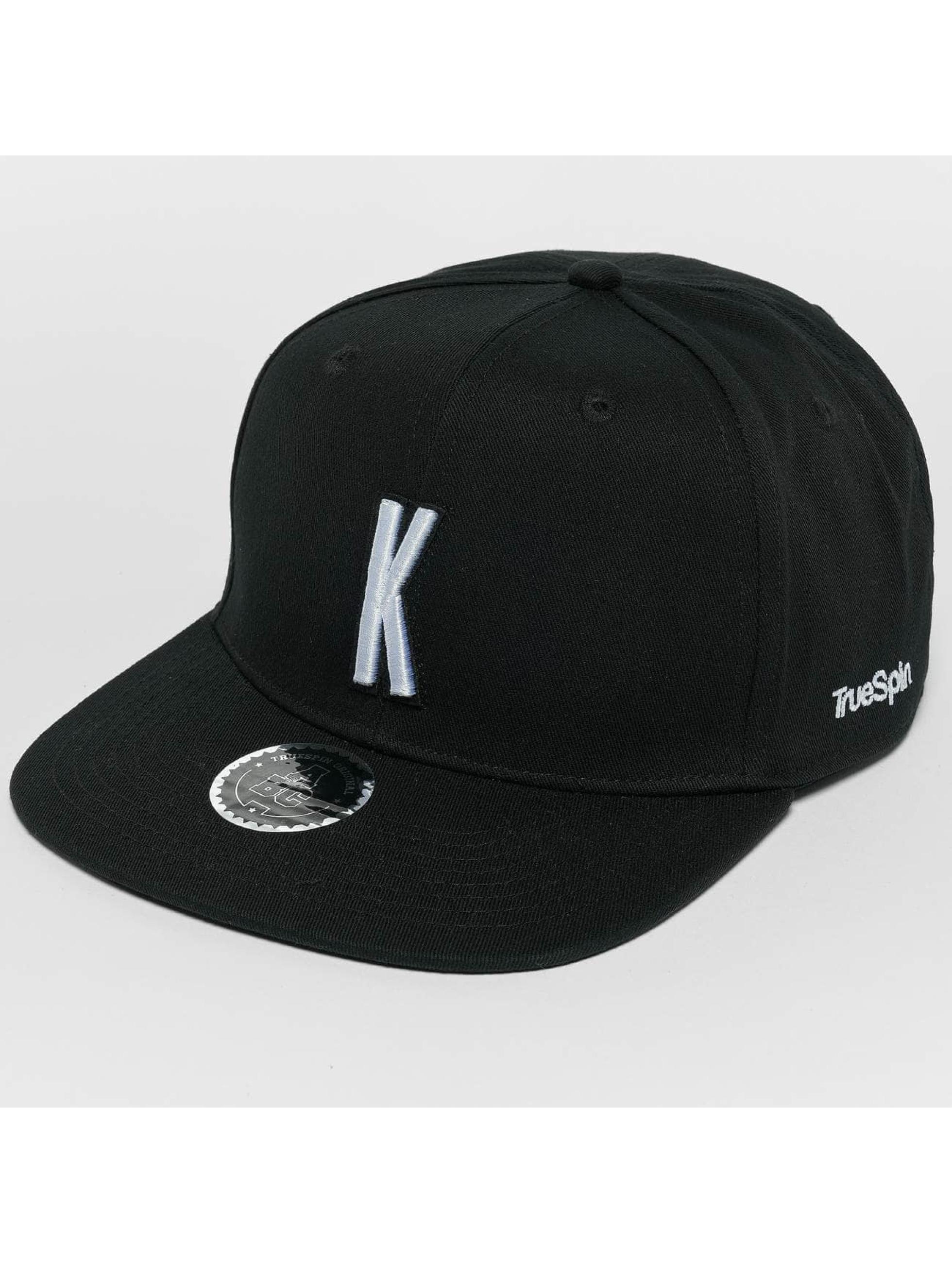 TrueSpin Snapback Cap ABC K schwarz