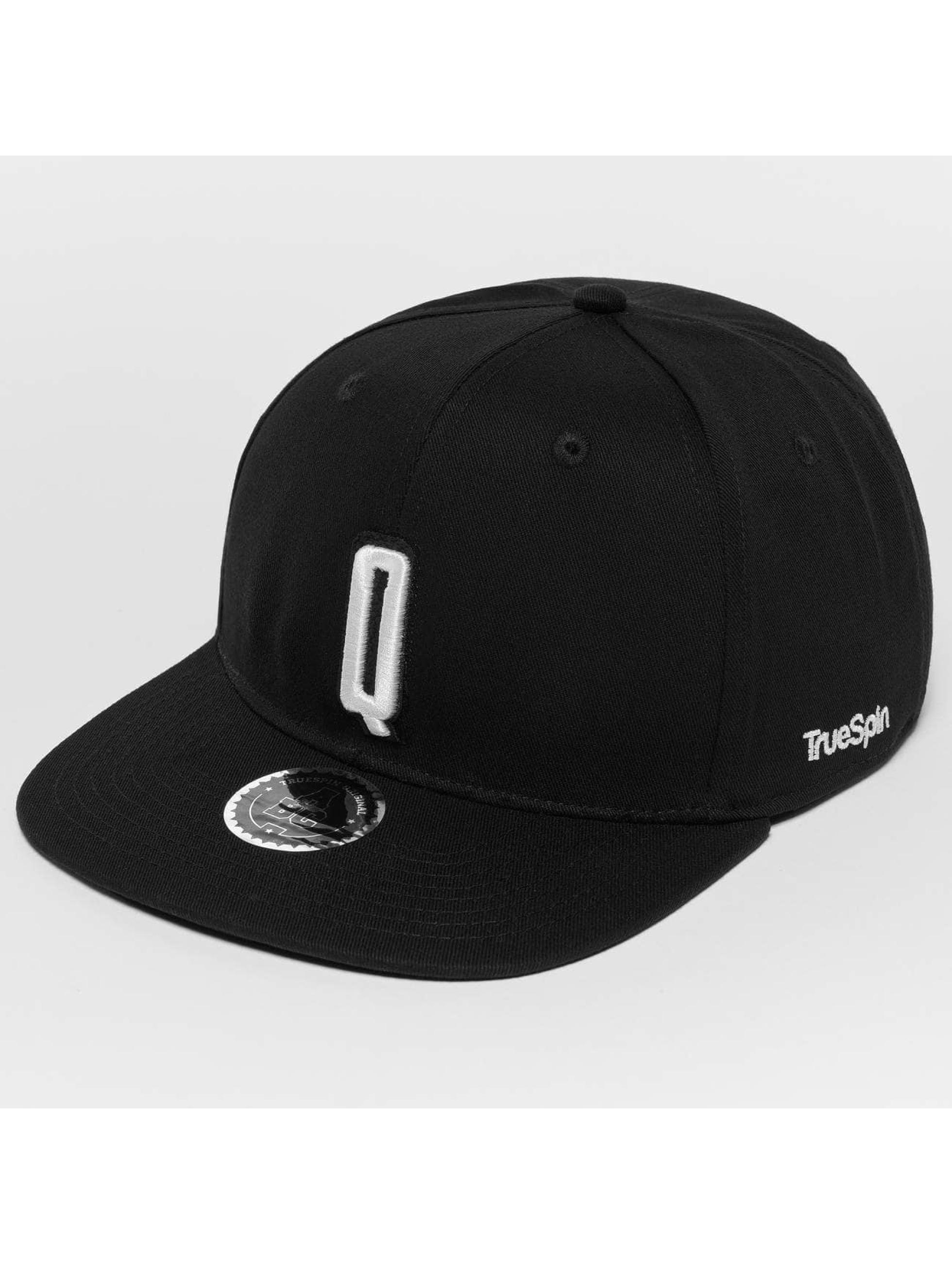 TrueSpin Snapback Cap ABC Q schwarz