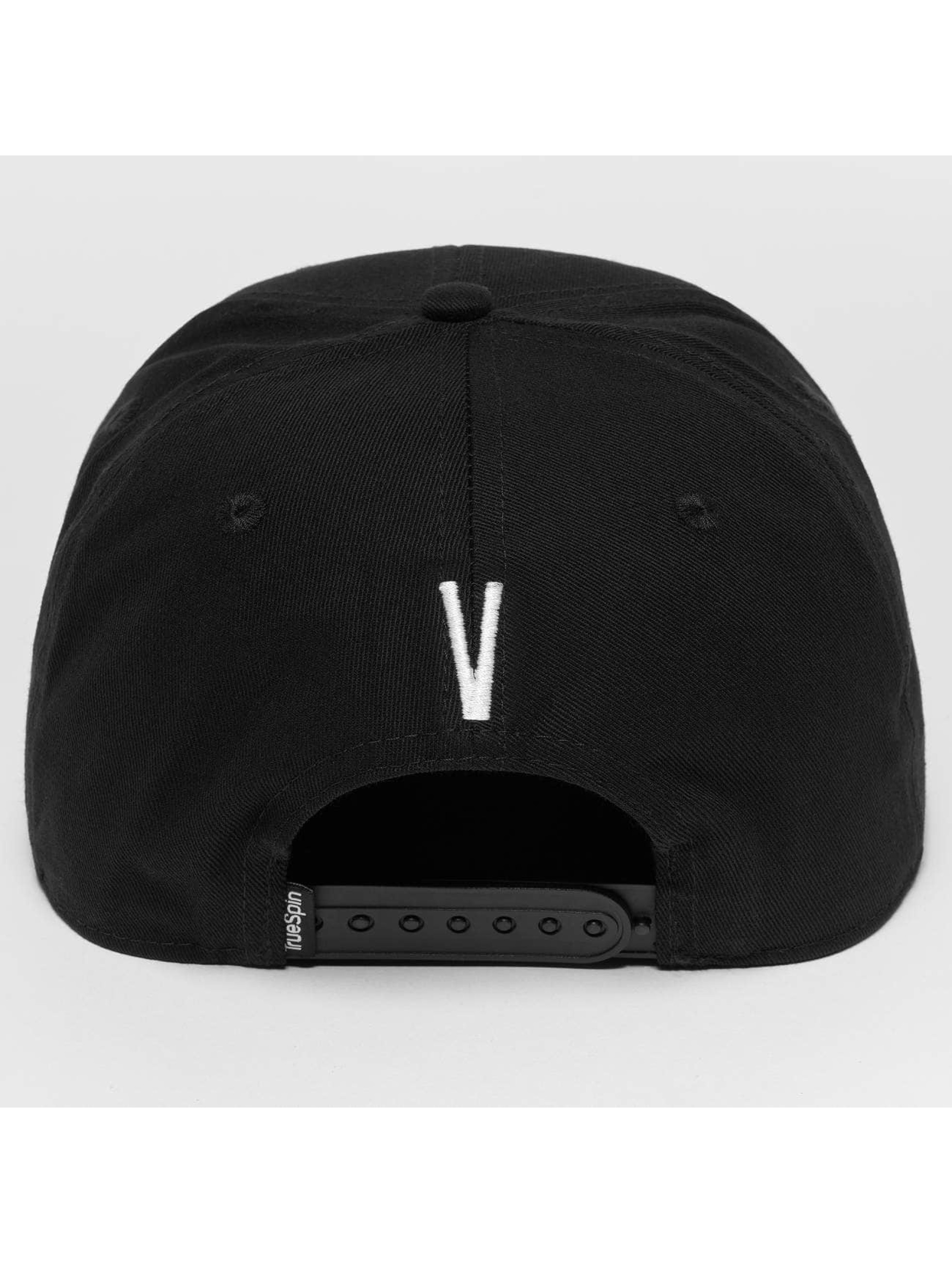 TrueSpin Snapback Cap ABC V schwarz