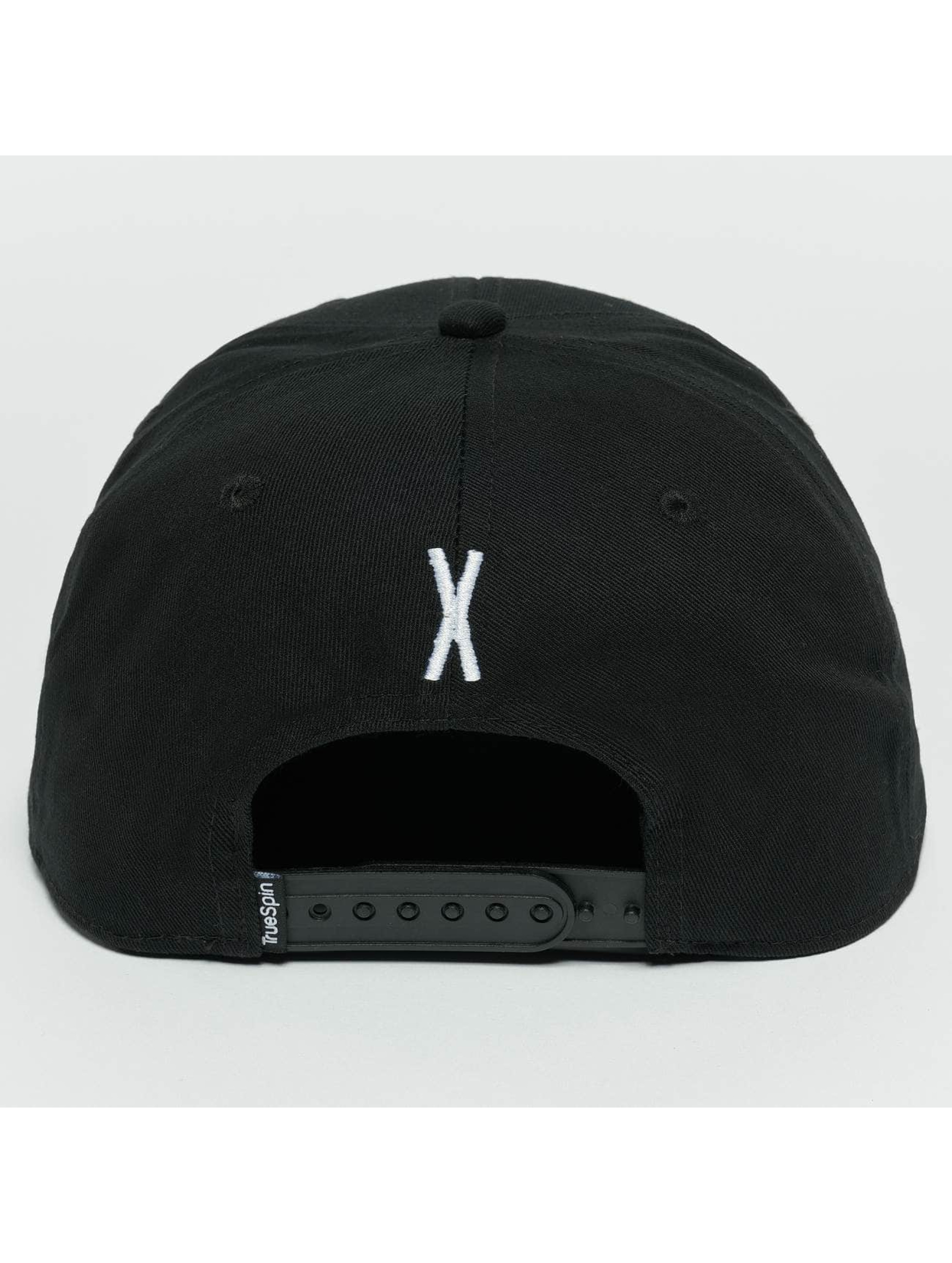 TrueSpin Snapback Cap ABC X schwarz