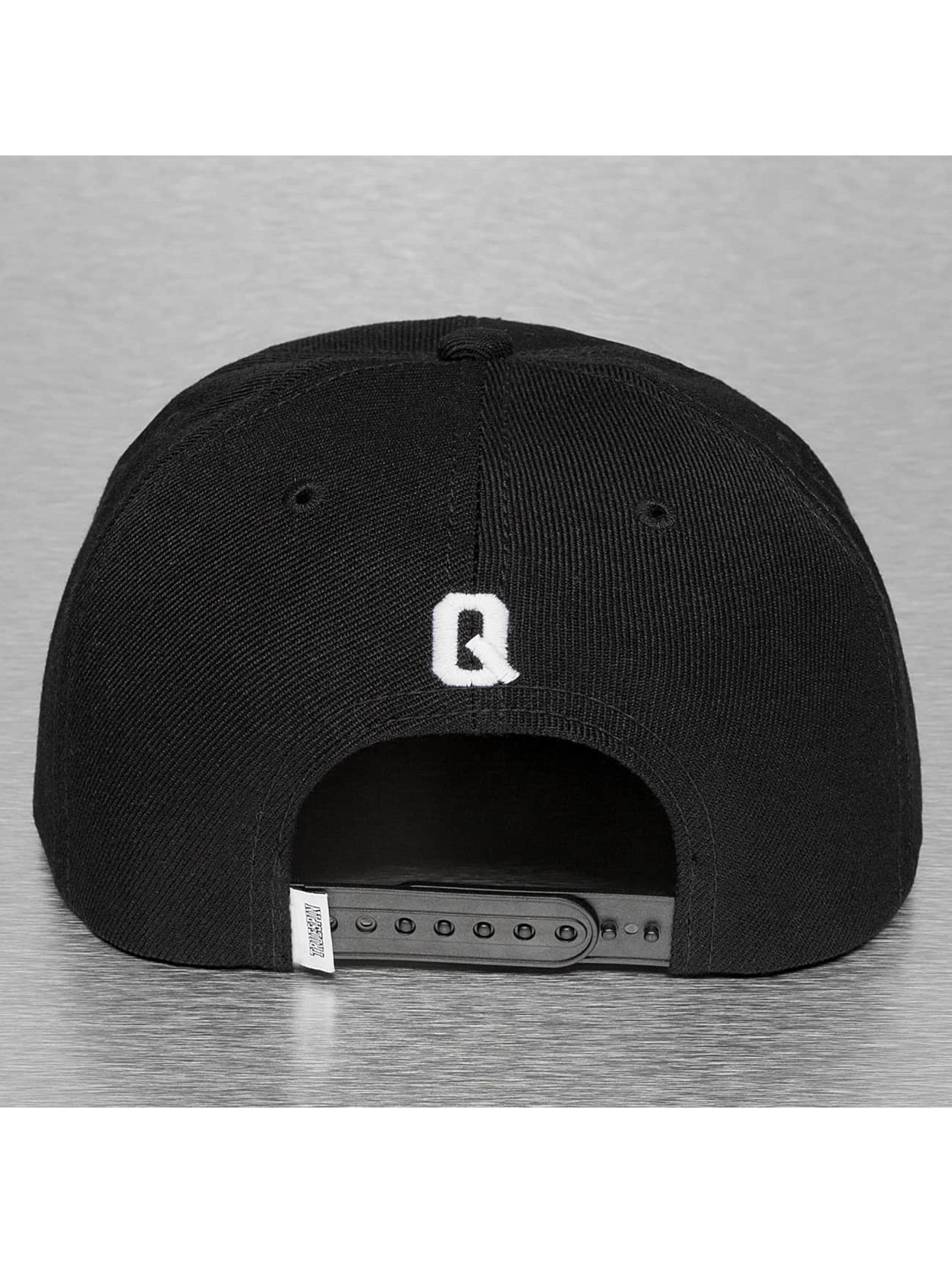 TrueSpin snapback cap Q-ABC zwart