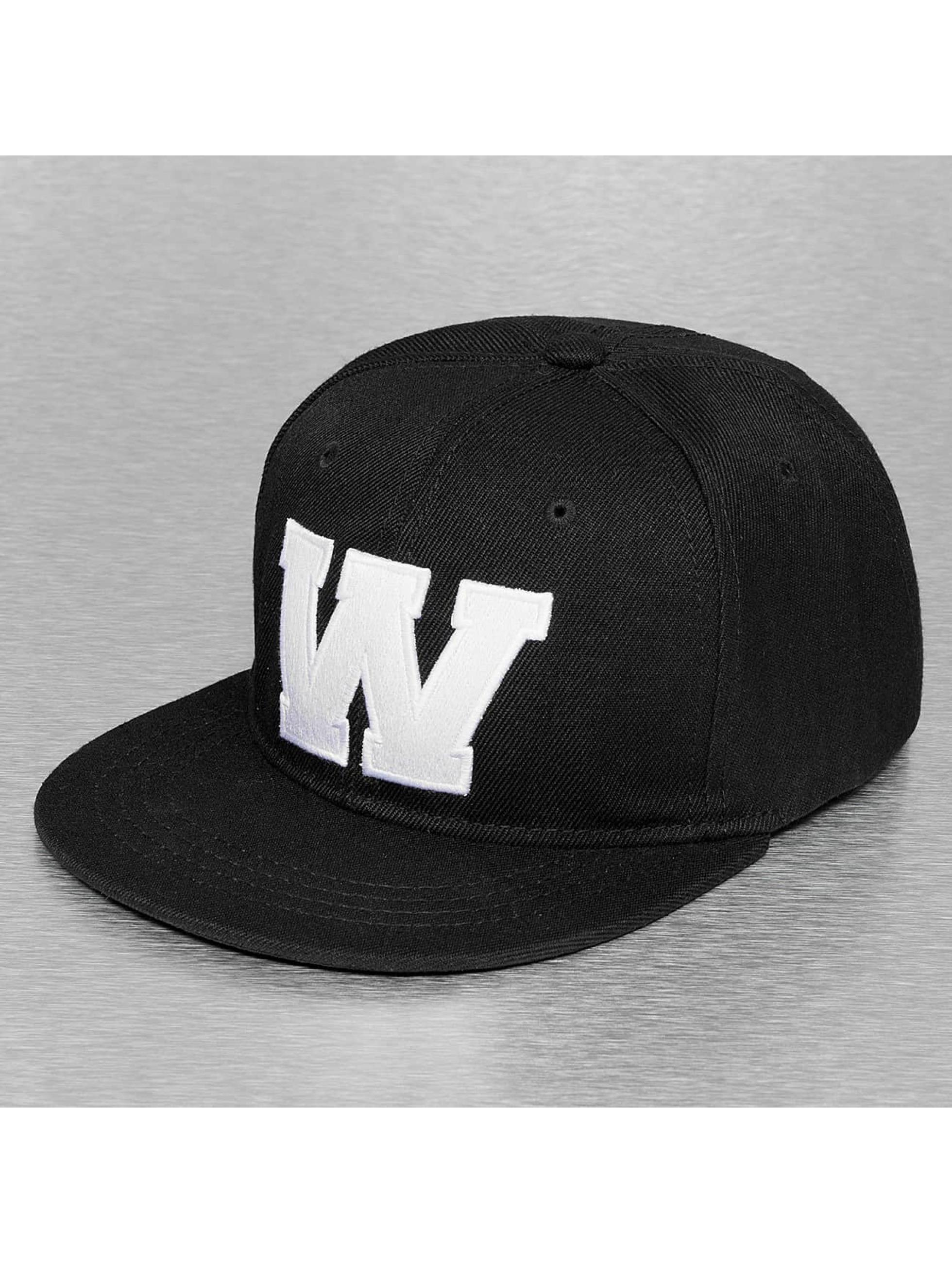 TrueSpin snapback cap W-ABC zwart