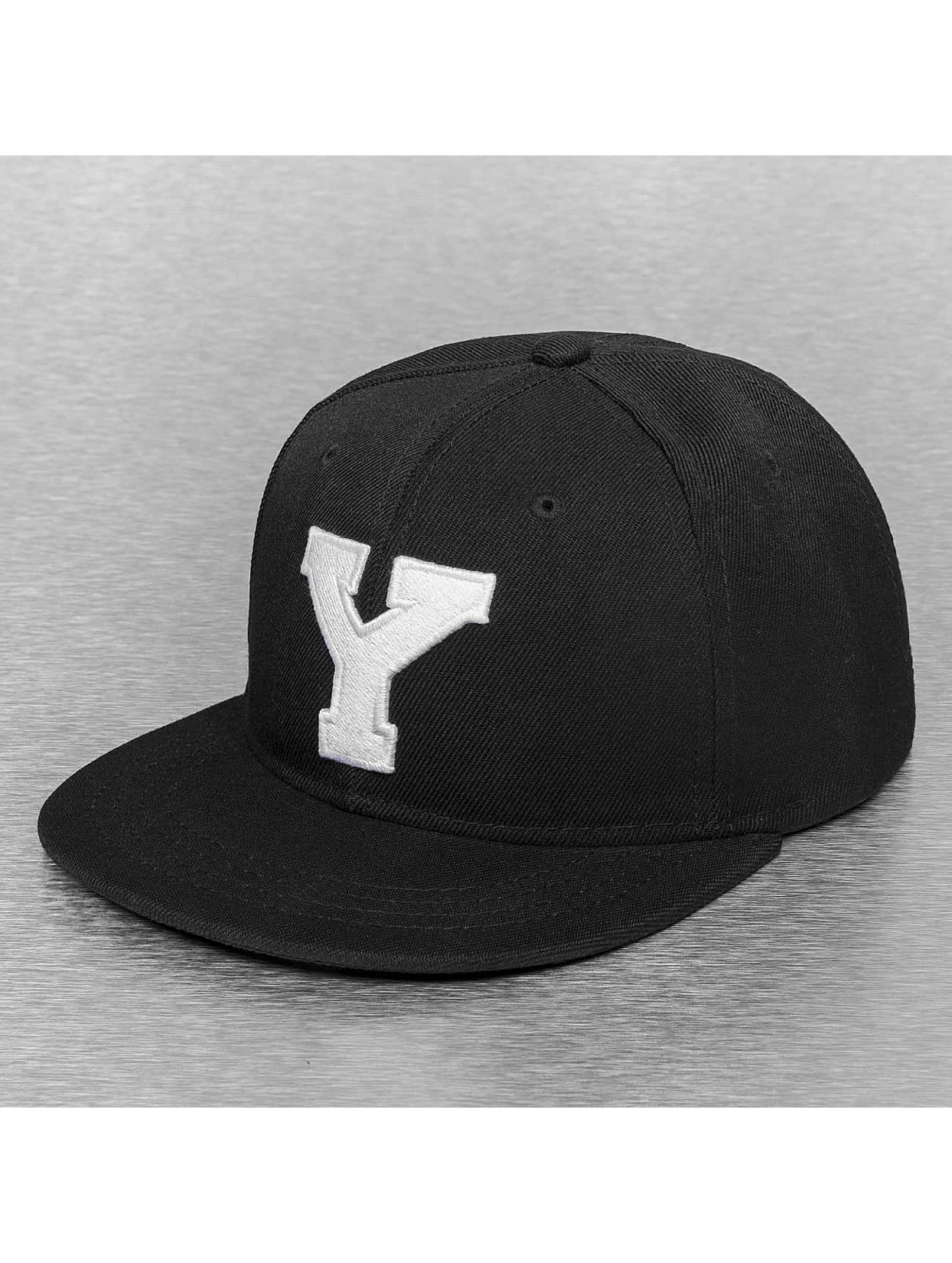 TrueSpin snapback cap Y-ABC zwart