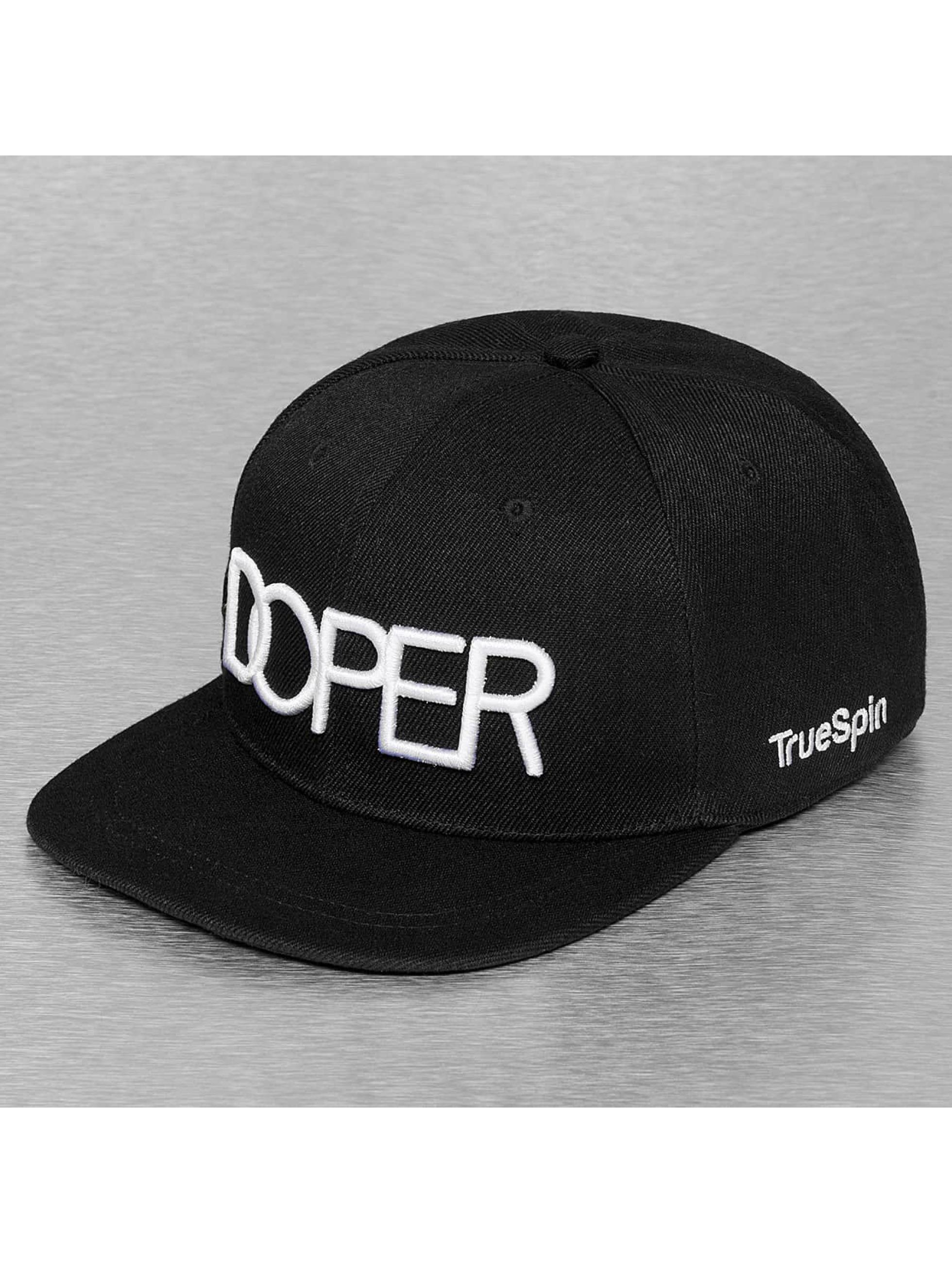 TrueSpin snapback cap Doper zwart