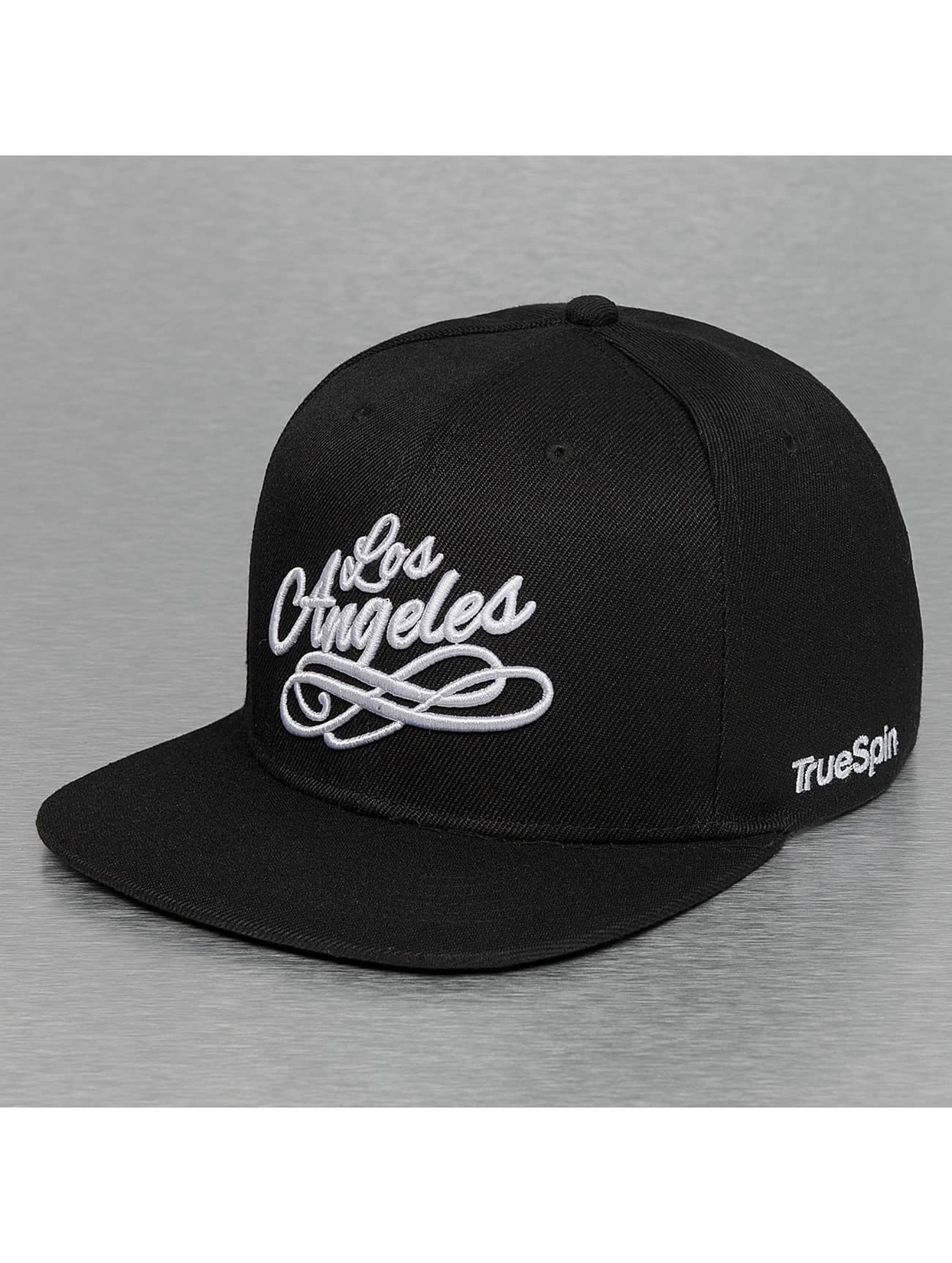 TrueSpin snapback cap Los Angeles City zwart