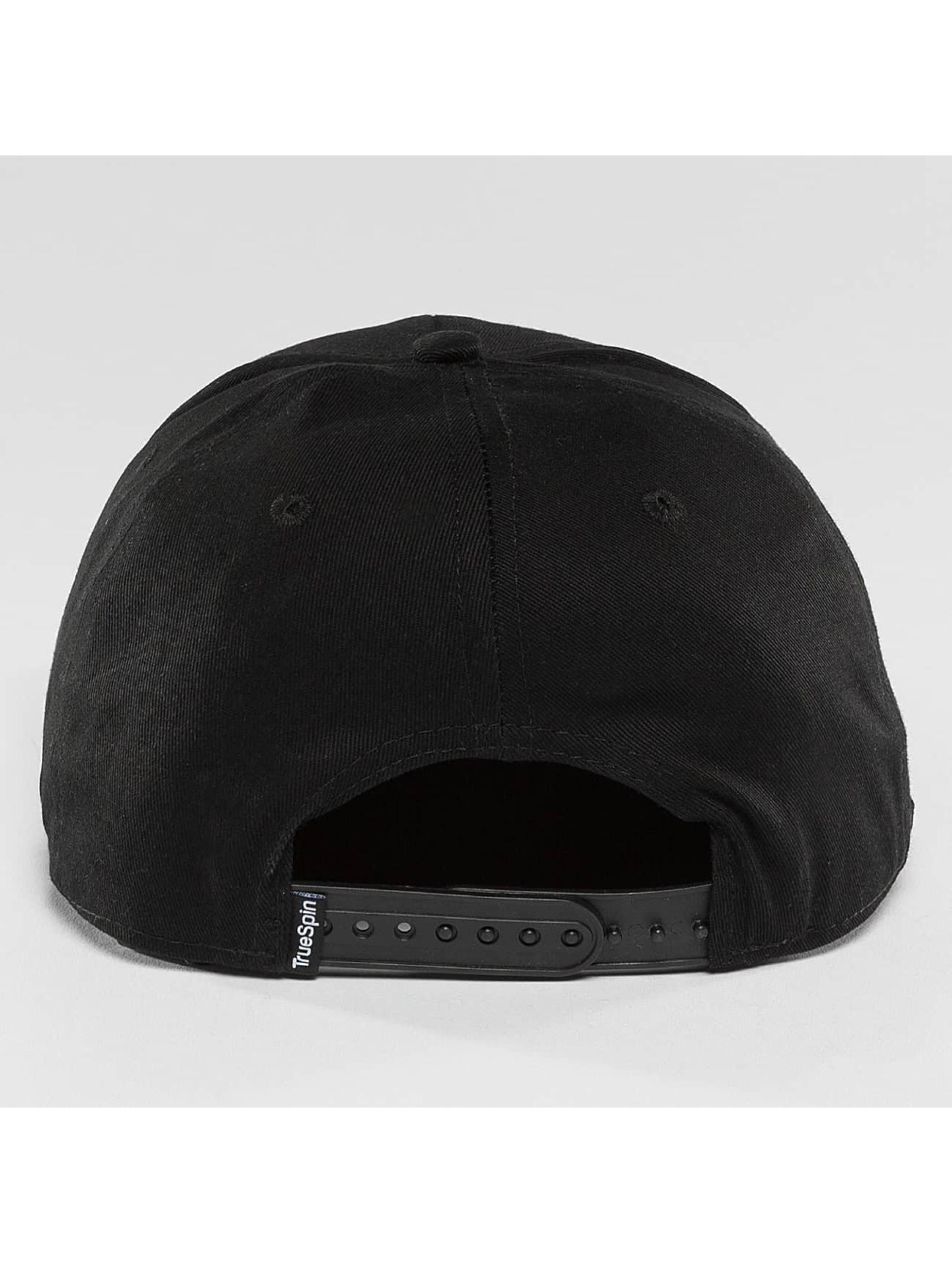 TrueSpin snapback cap Luck zwart