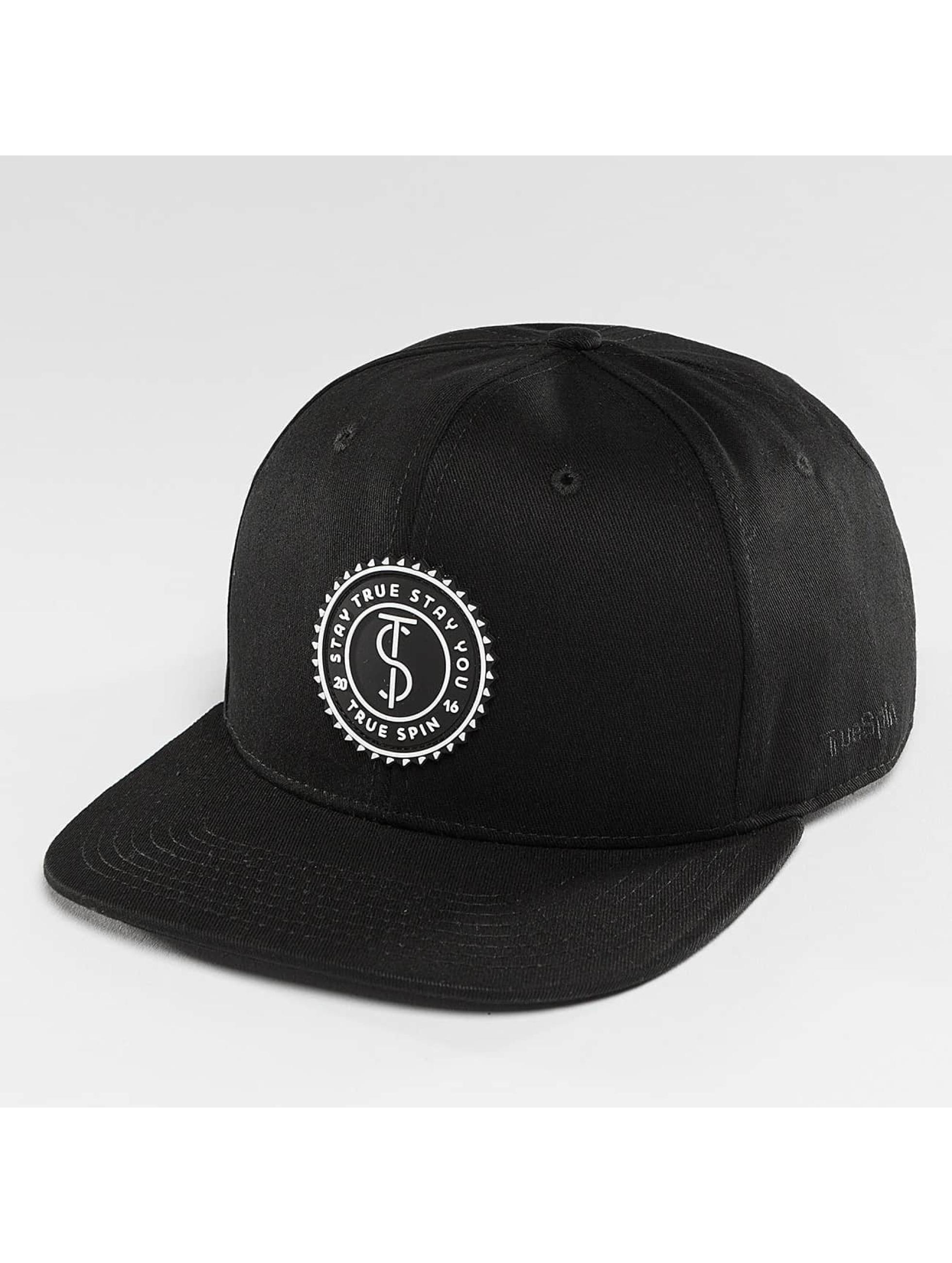 TrueSpin snapback cap Täskulap zwart