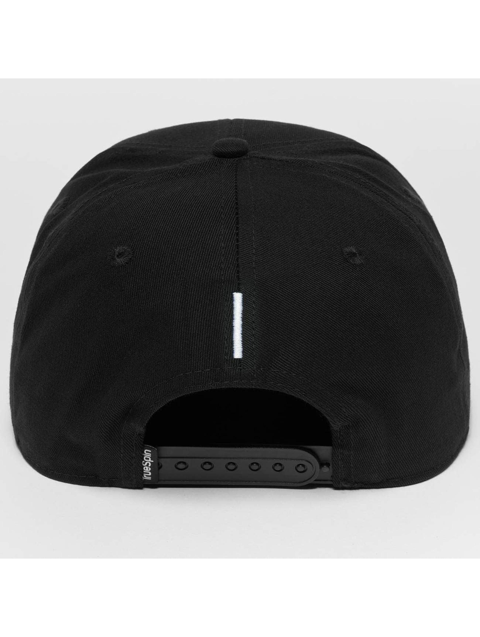 TrueSpin snapback cap ABC I zwart