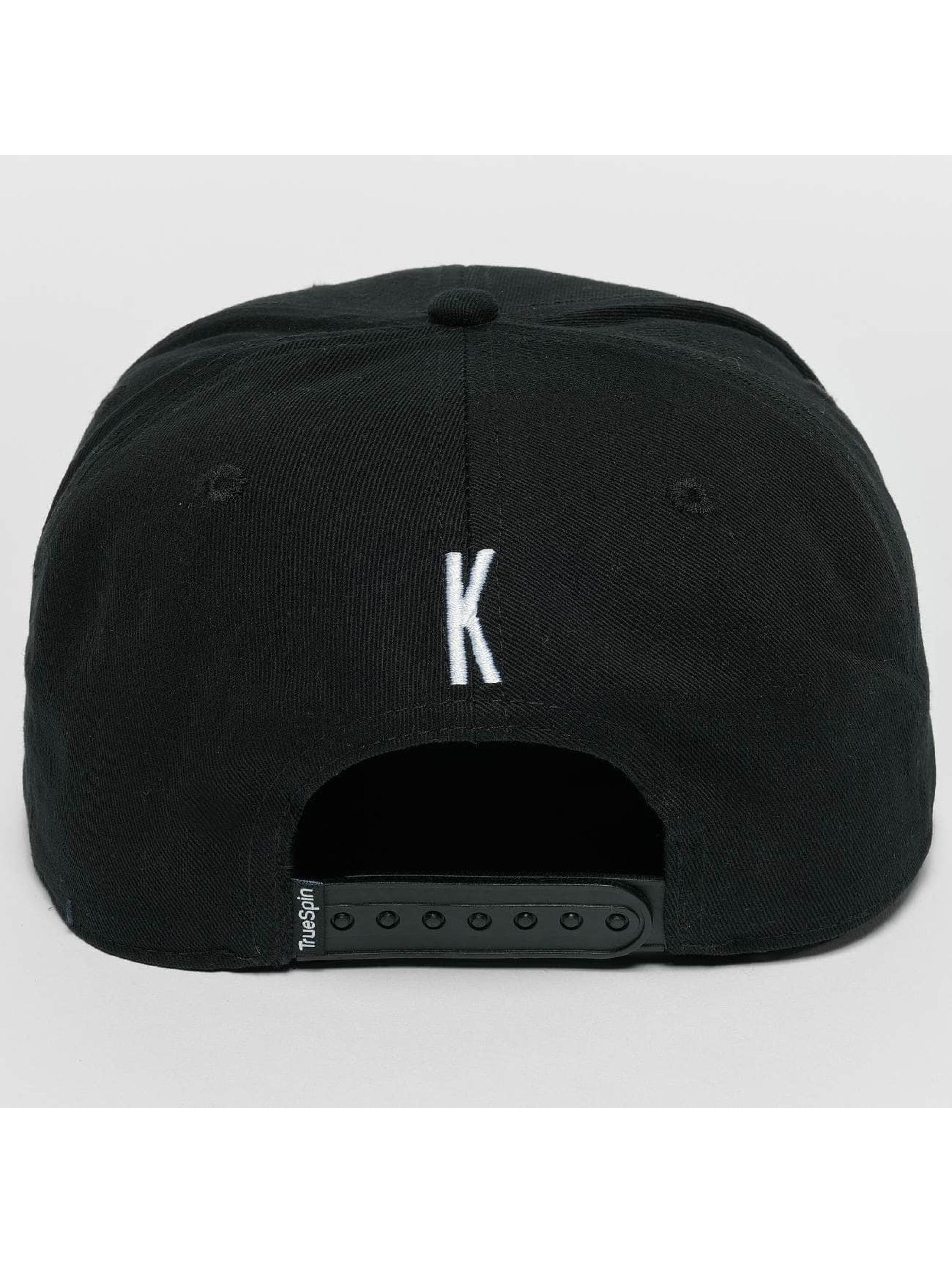 TrueSpin snapback cap ABC K zwart
