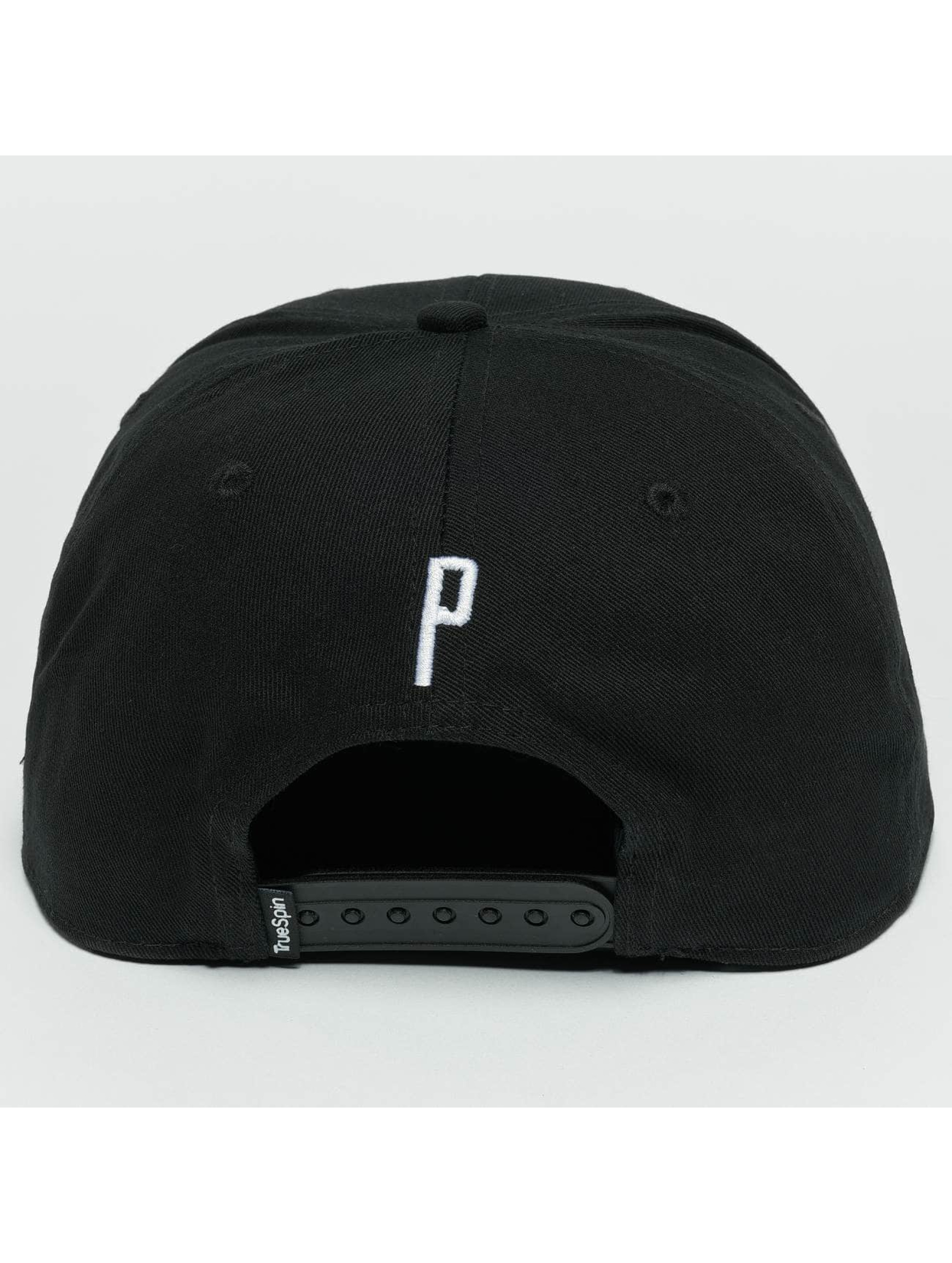 TrueSpin snapback cap ABC P zwart