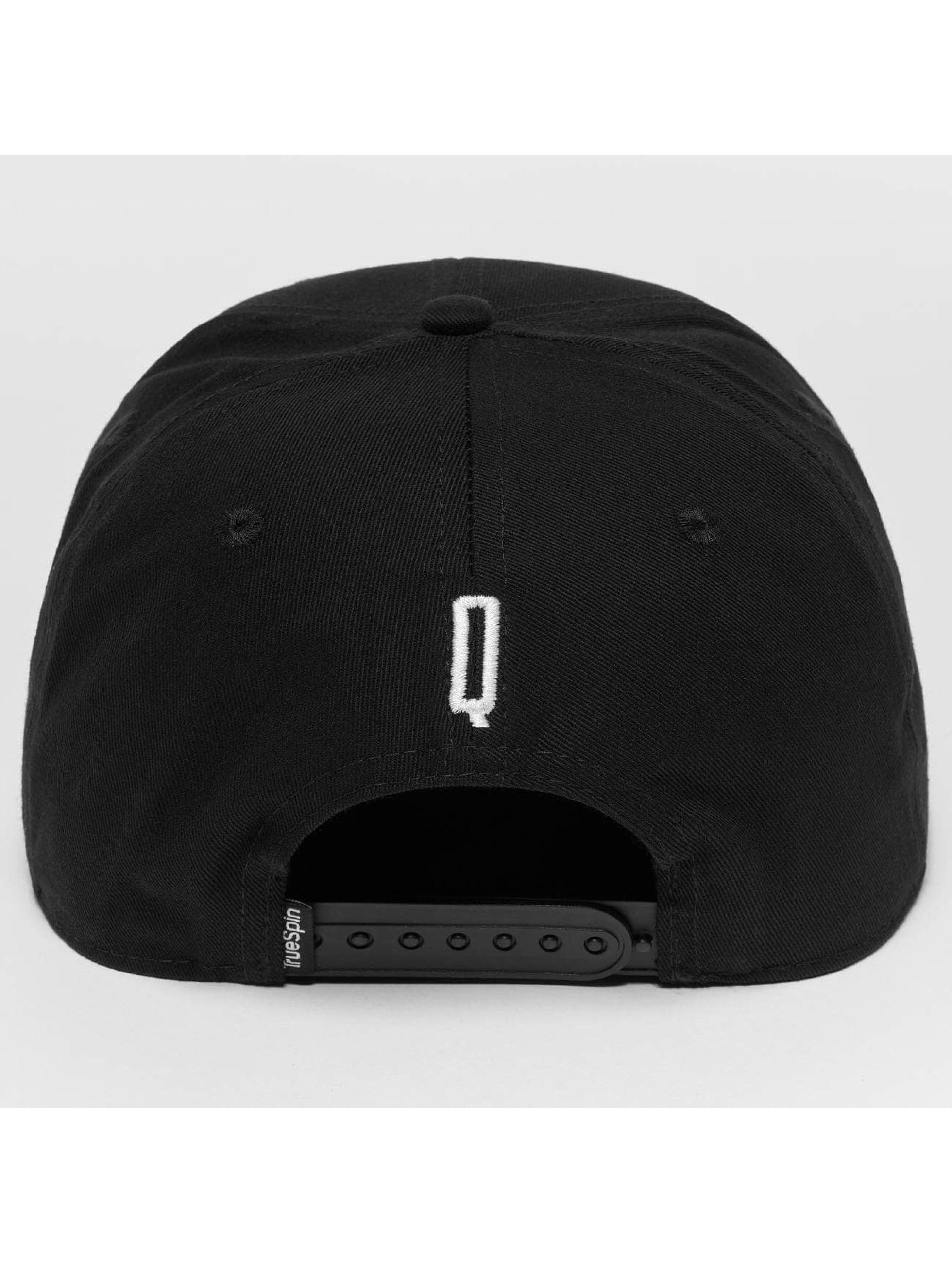 TrueSpin snapback cap ABC Q zwart