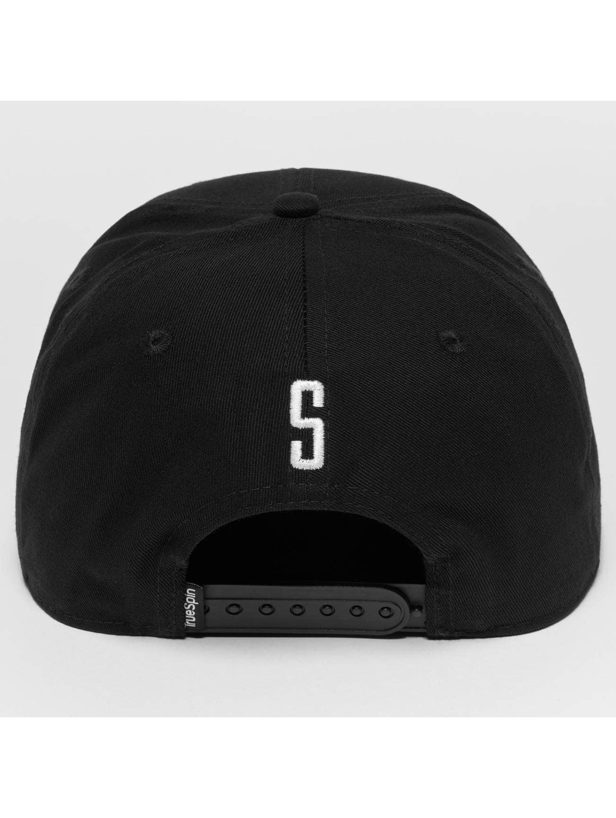 TrueSpin snapback cap ABC S zwart