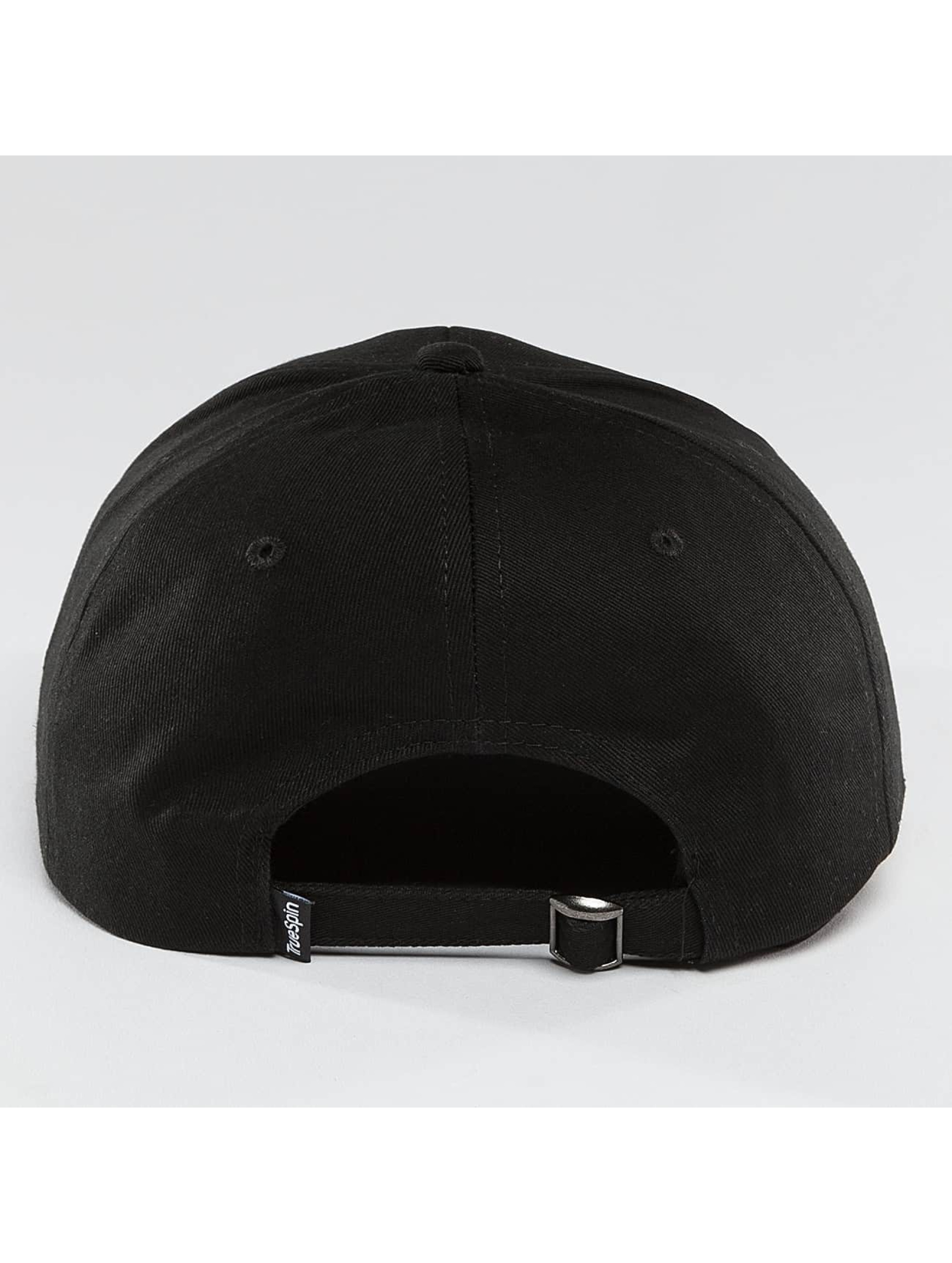 TrueSpin Snapback Caps Unstructured Dad čern