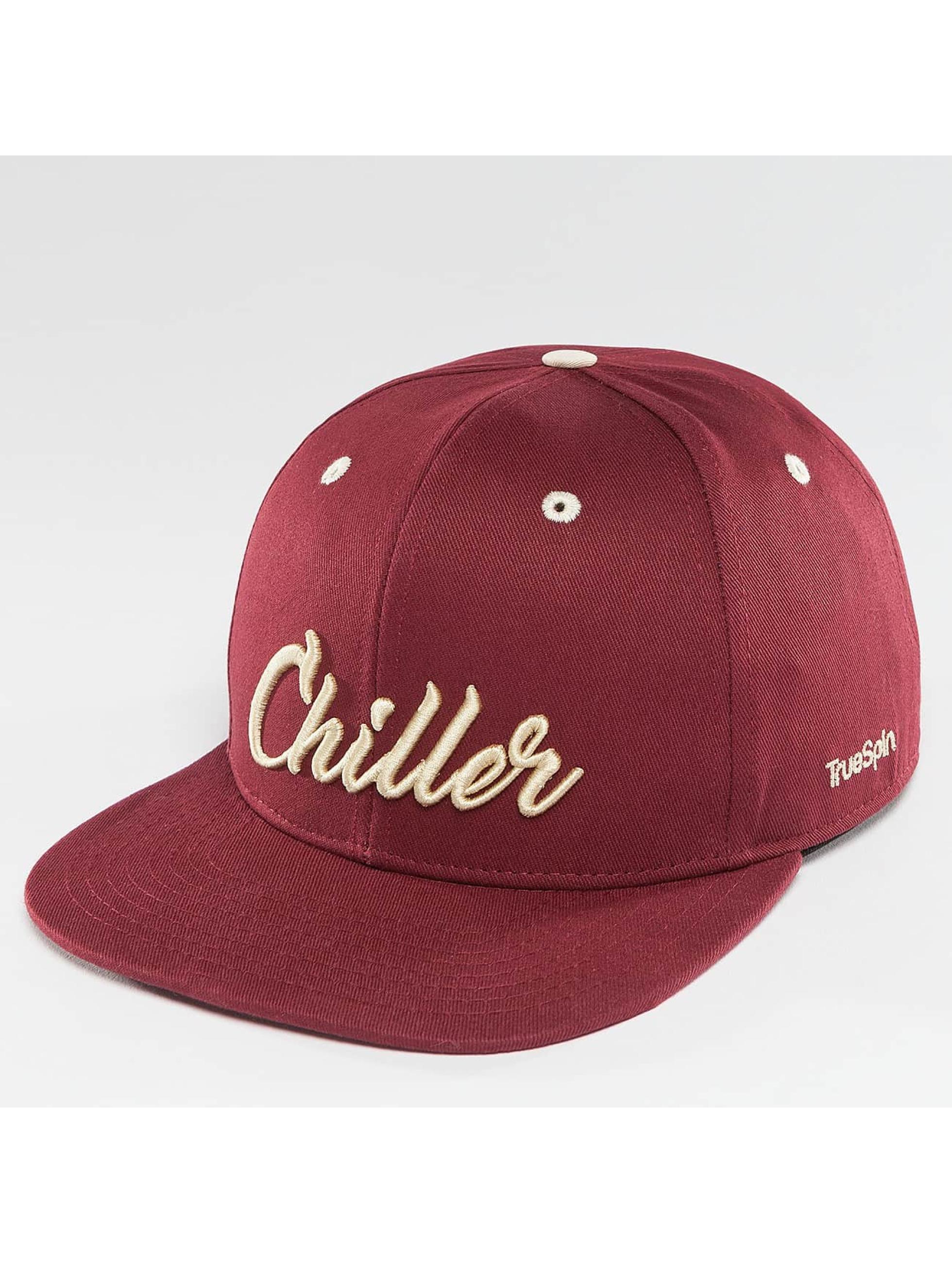 TrueSpin Snapback Caps Chiller červený
