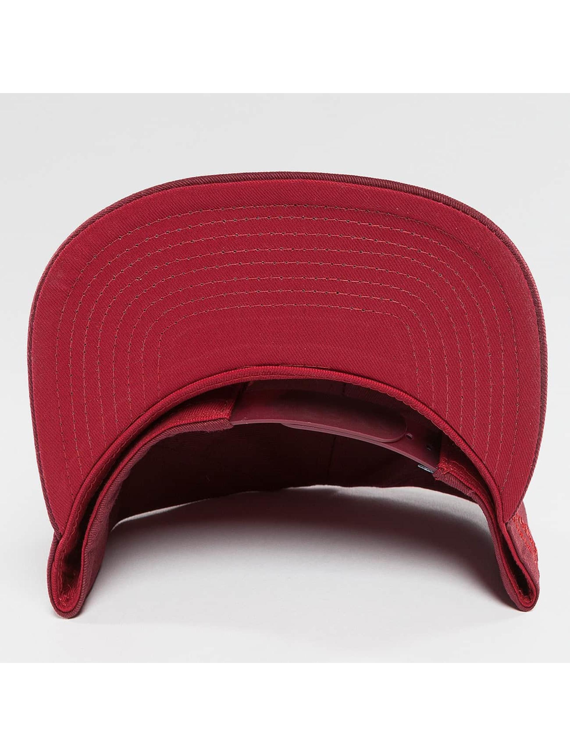 TrueSpin Snapback Caps Shorty MYOB červený