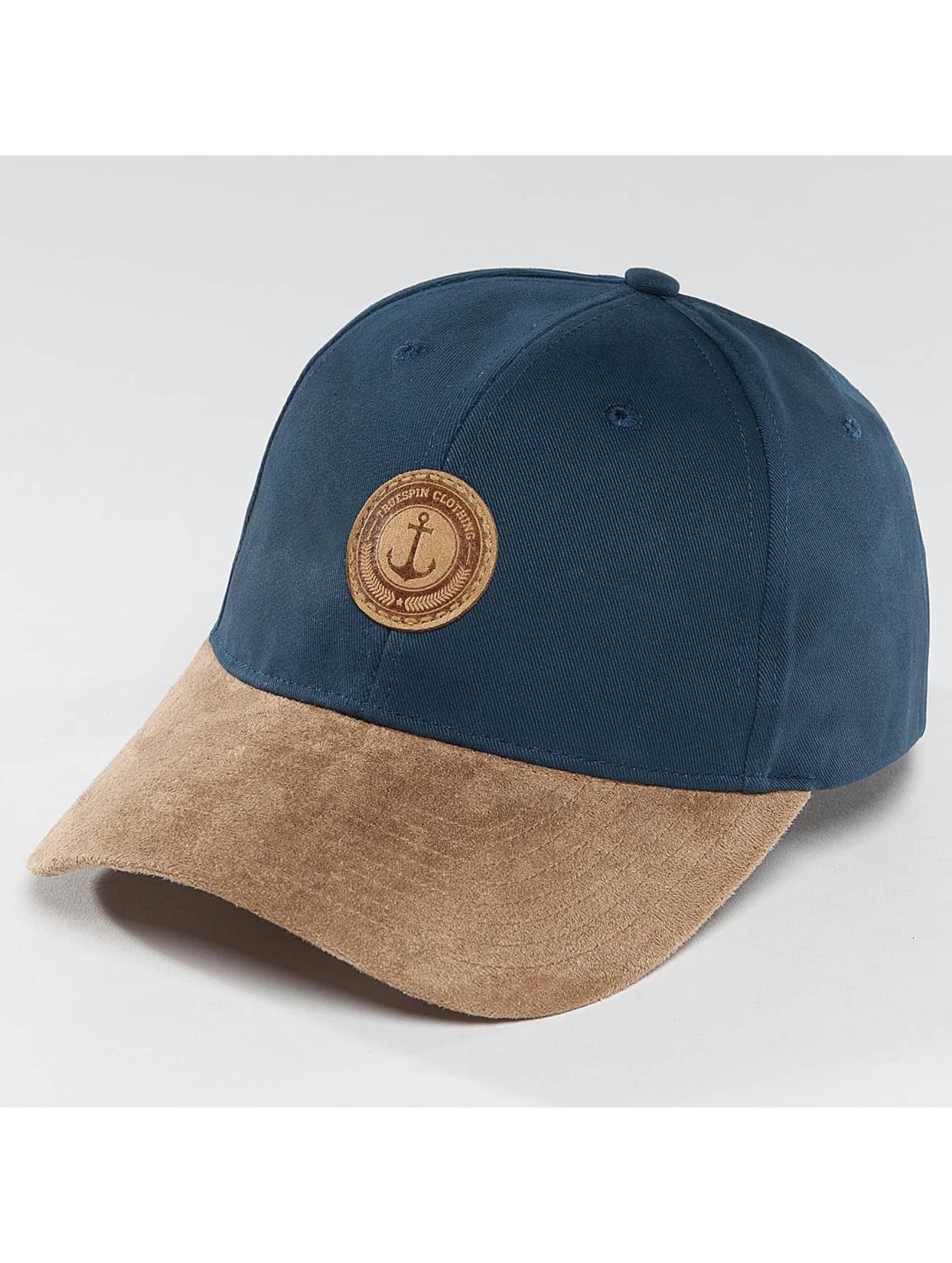TrueSpin Snapback Caps Anker blå