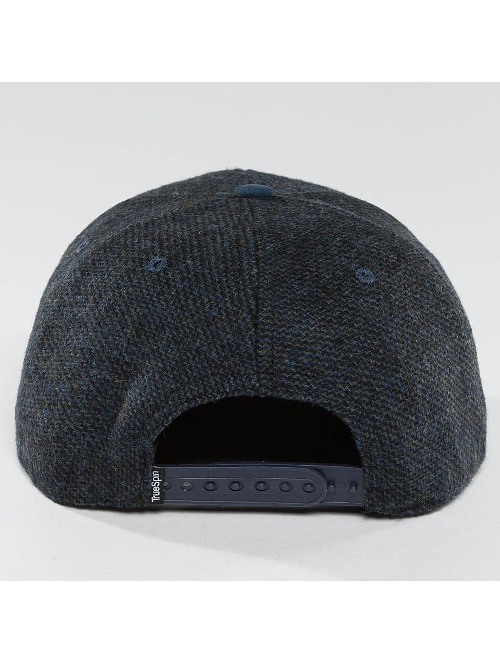 TrueSpin Snapback Caps Chevron blå