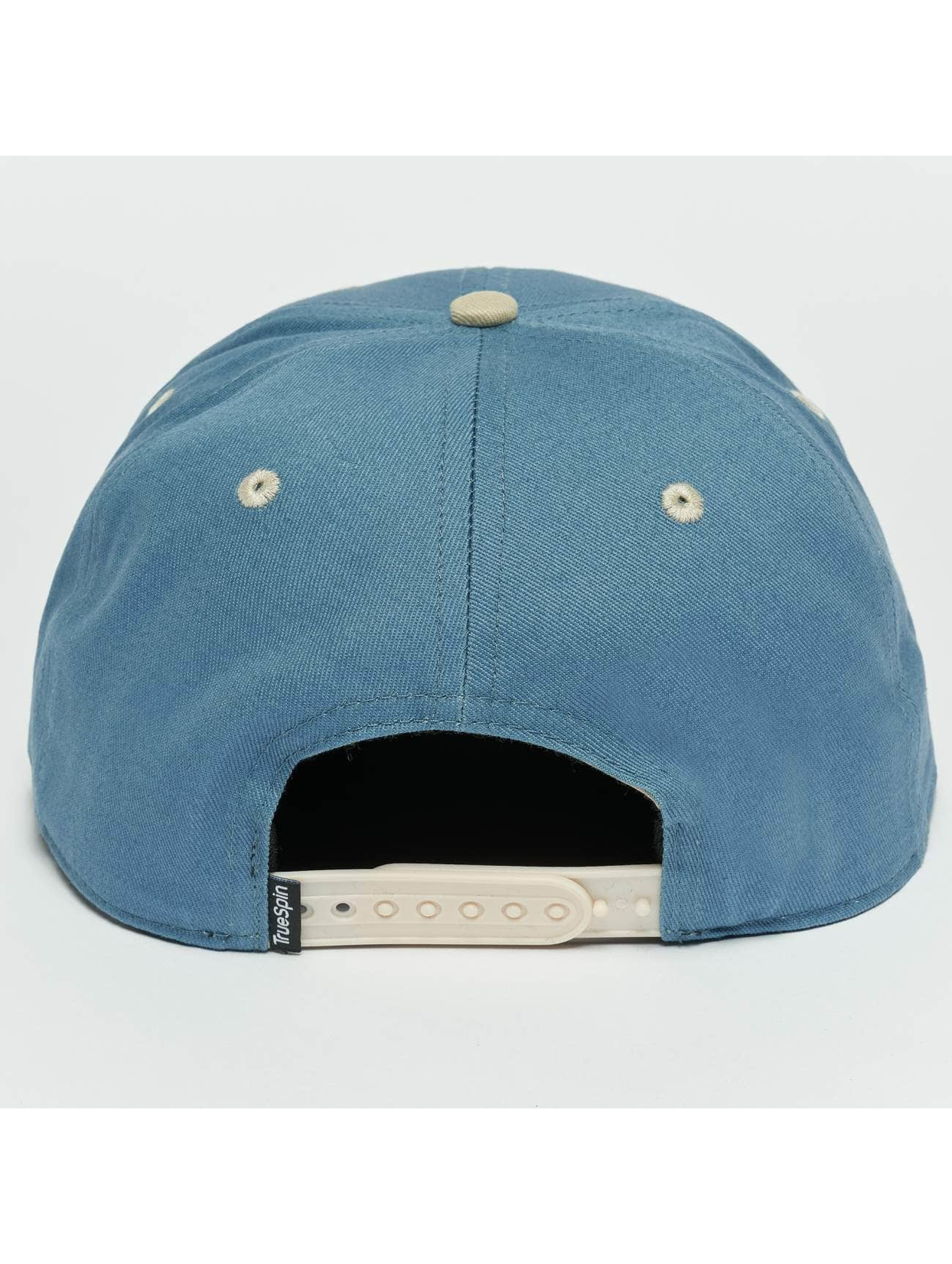 TrueSpin Snapback Caps Next Level blå