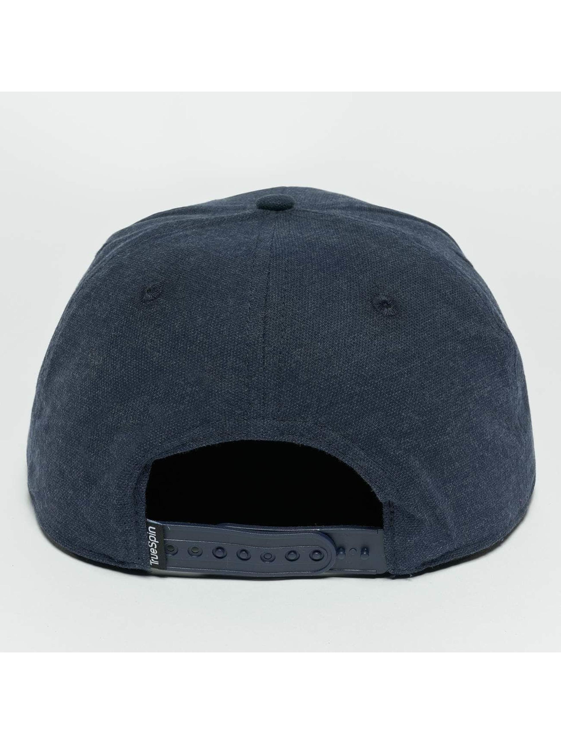 TrueSpin Snapback Caps Decent blå