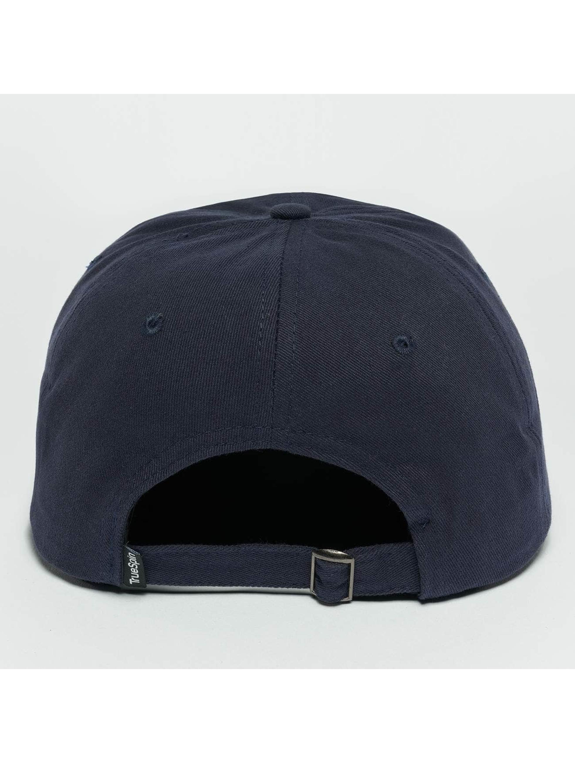 TrueSpin Snapback Caps Tuned Round Visor Plains blå