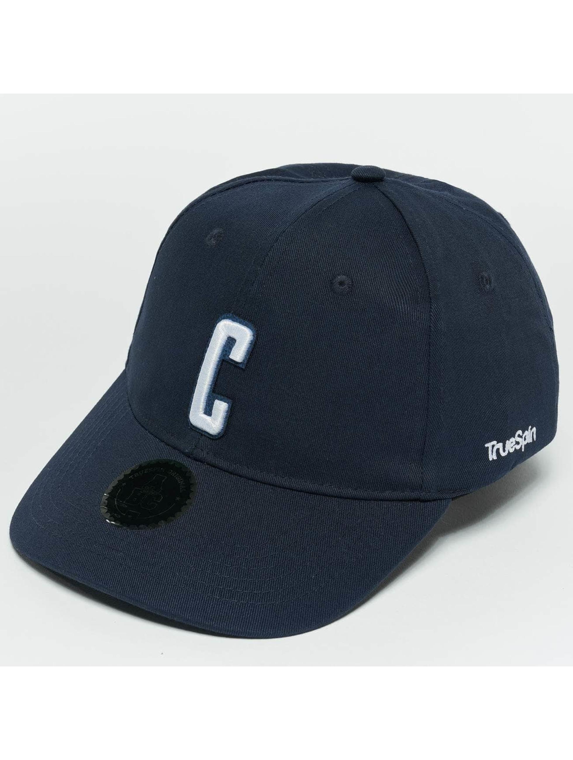 TrueSpin Snapback Caps ABC C blå