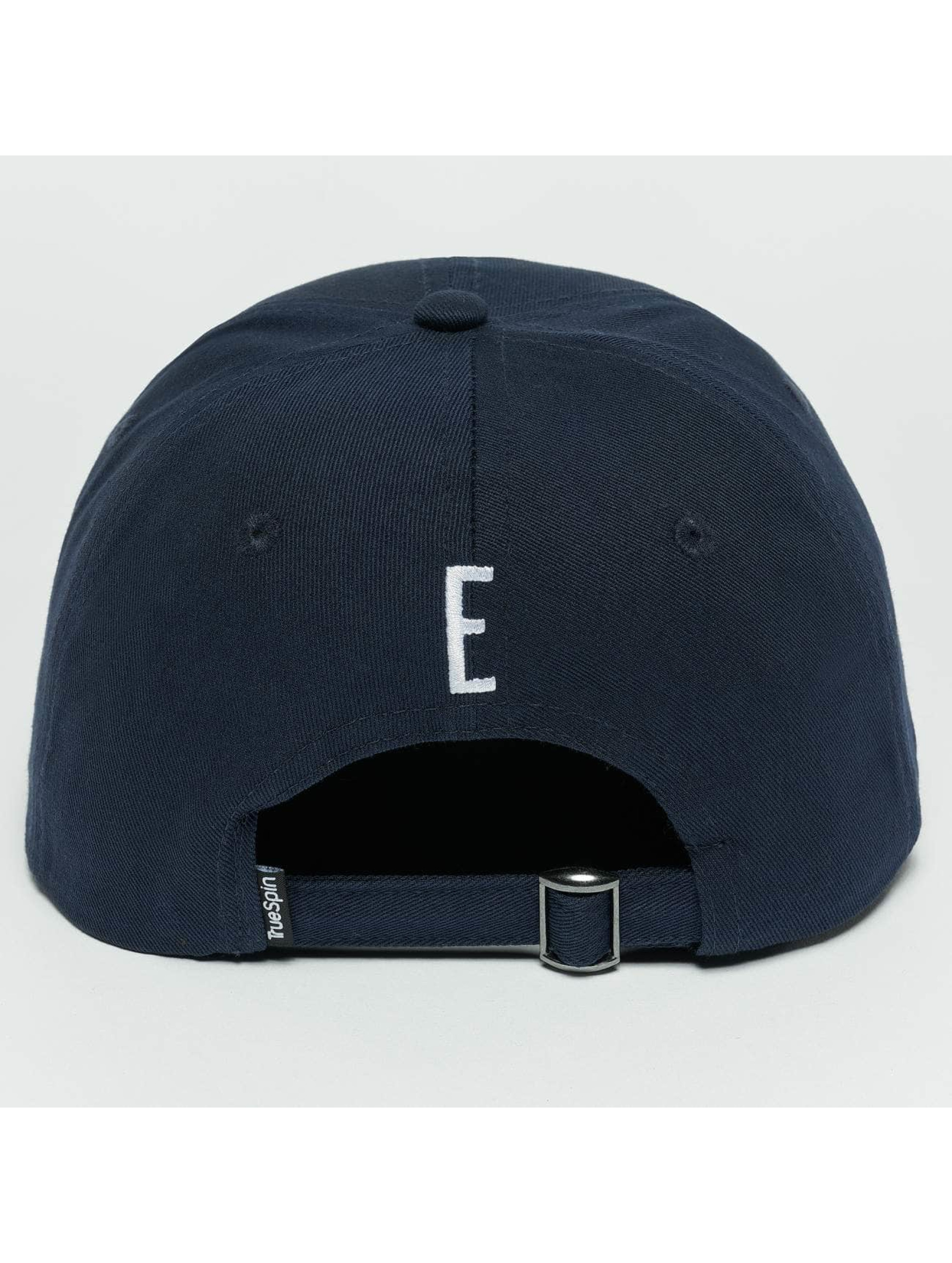 TrueSpin Snapback Caps ABC E blå