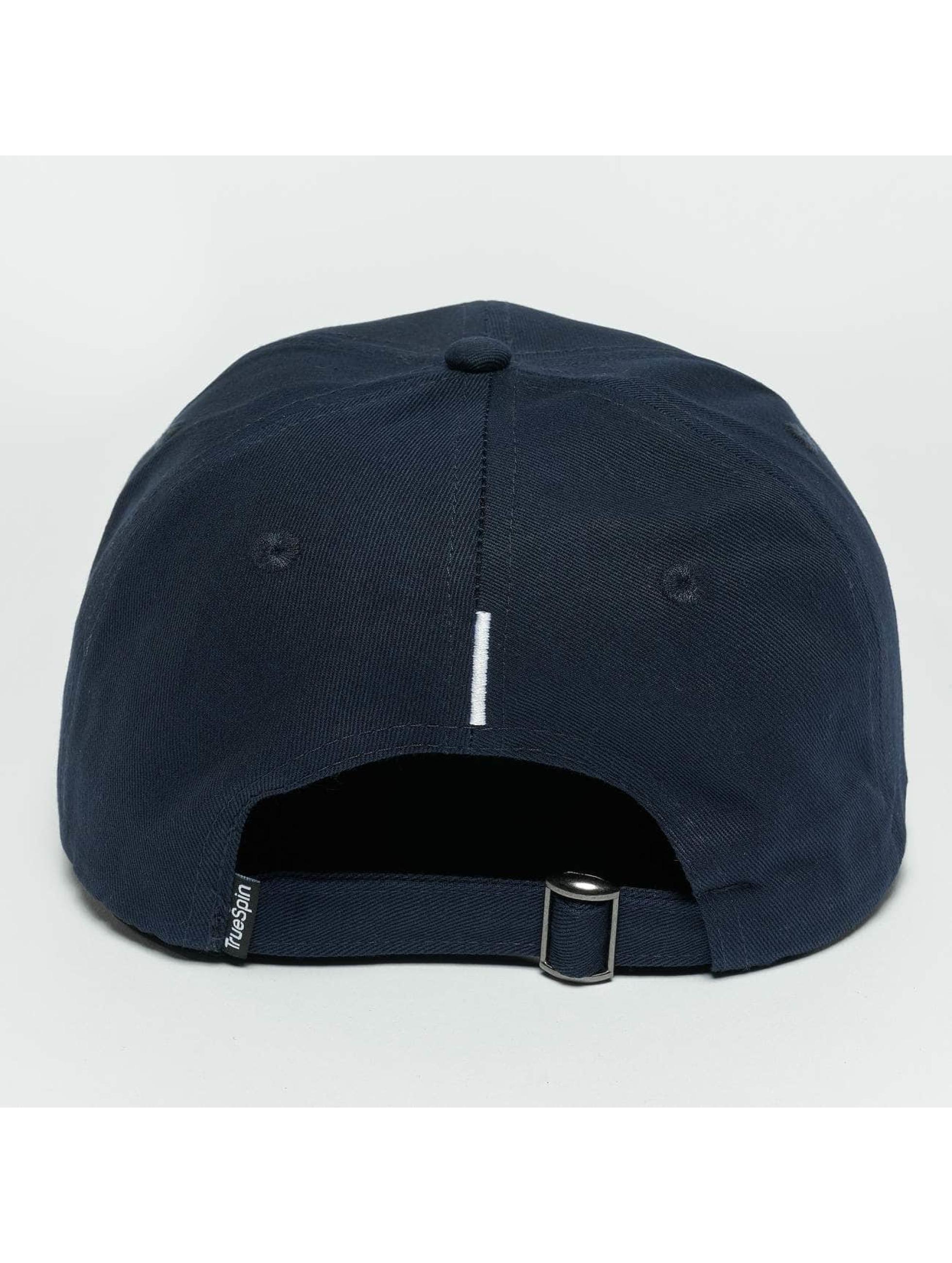 TrueSpin Snapback Caps ABC I blå