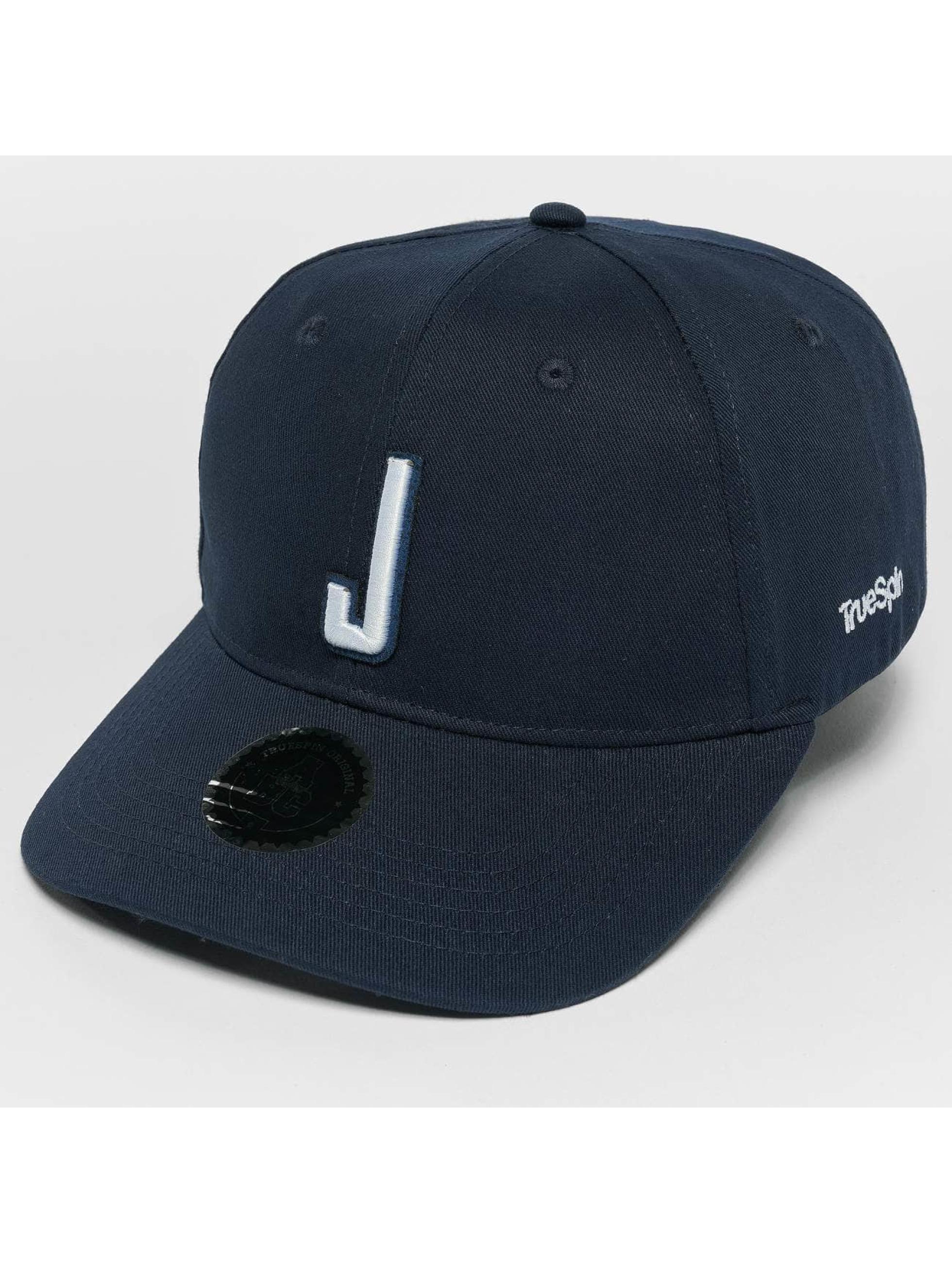 TrueSpin Snapback Caps ABC J blå