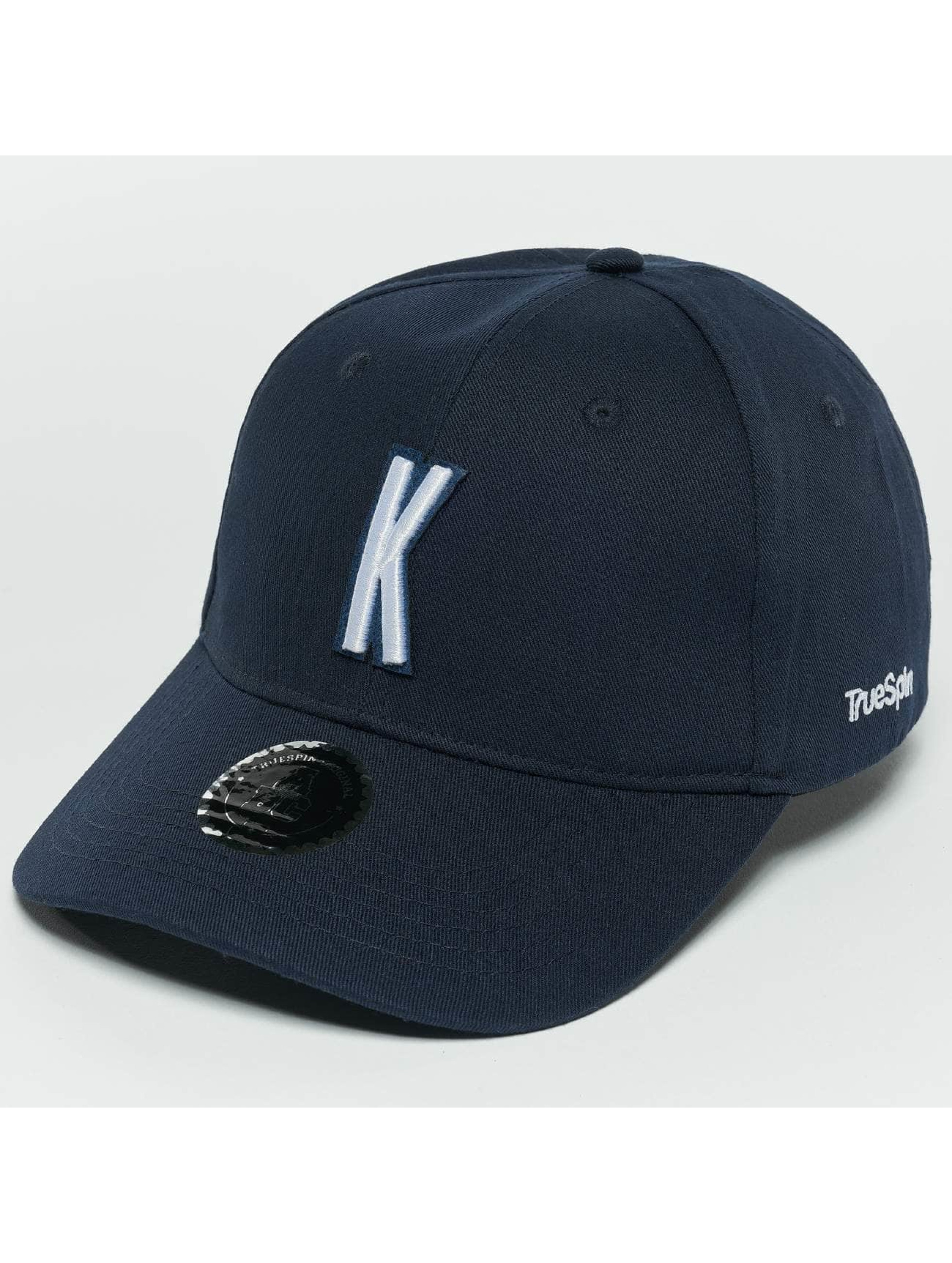 TrueSpin Snapback Caps ABC K blå