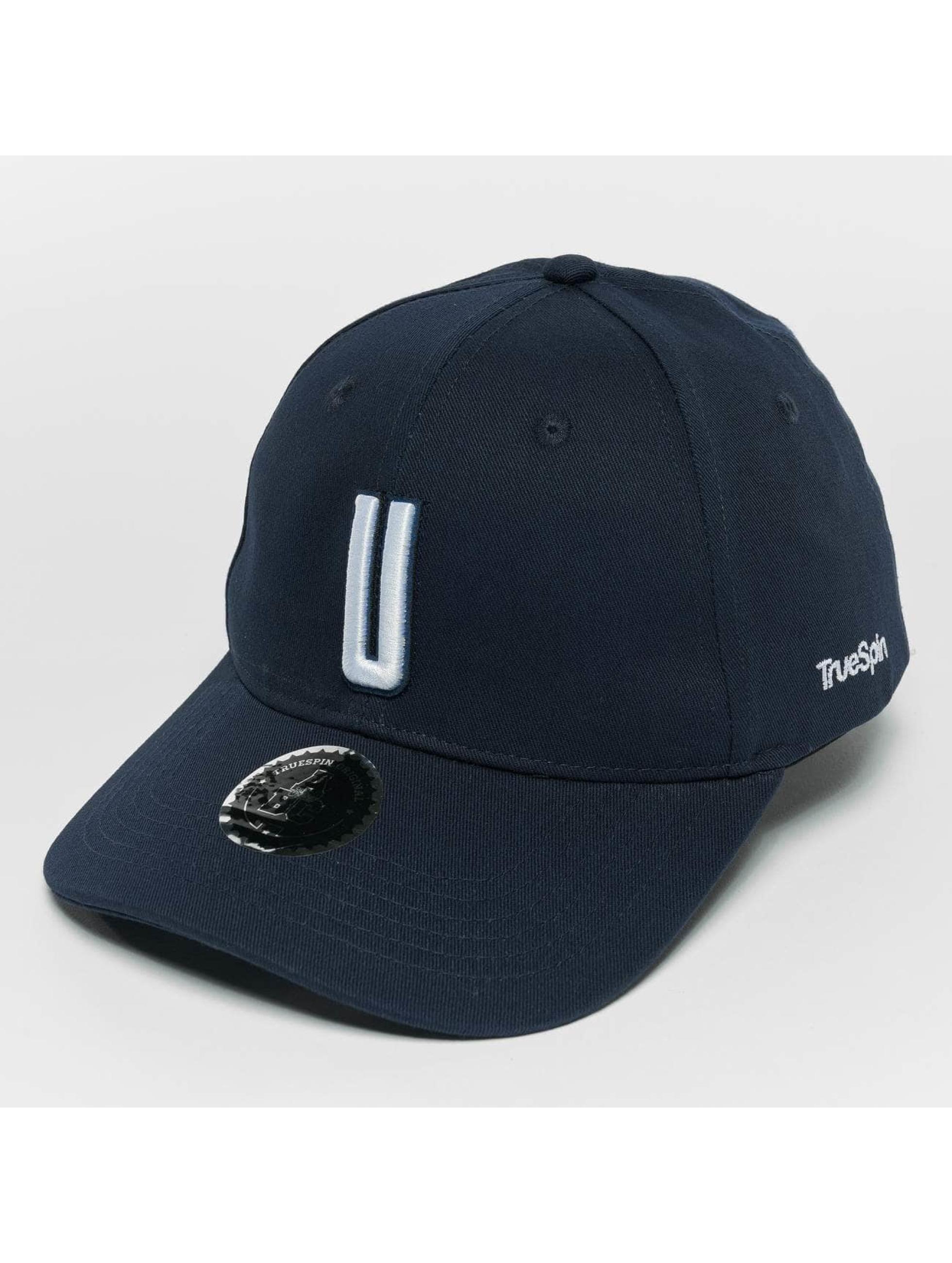 TrueSpin Snapback Caps ABC U blå