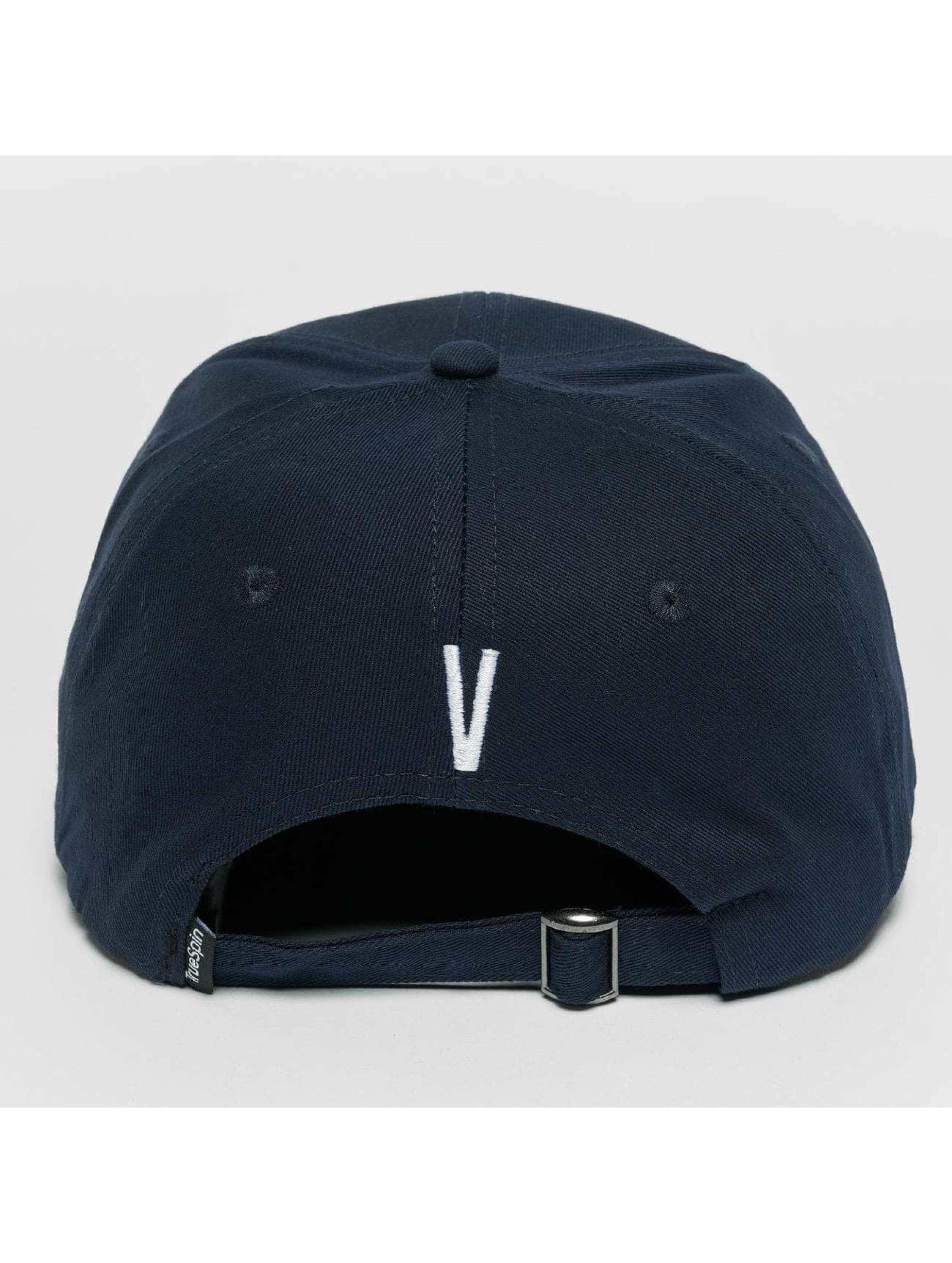 TrueSpin Snapback Caps ABC V blå
