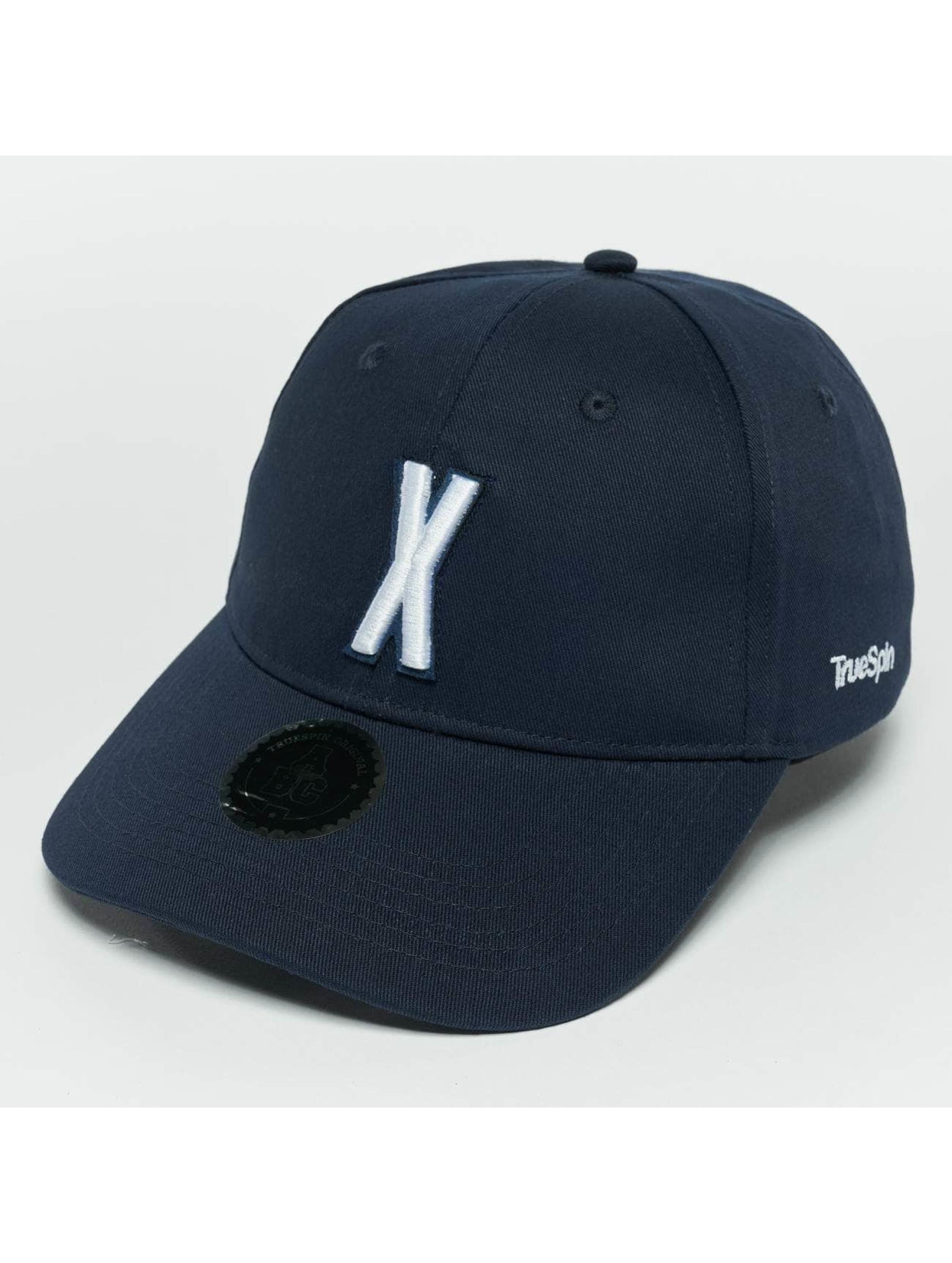 TrueSpin Snapback Caps ABC X blå