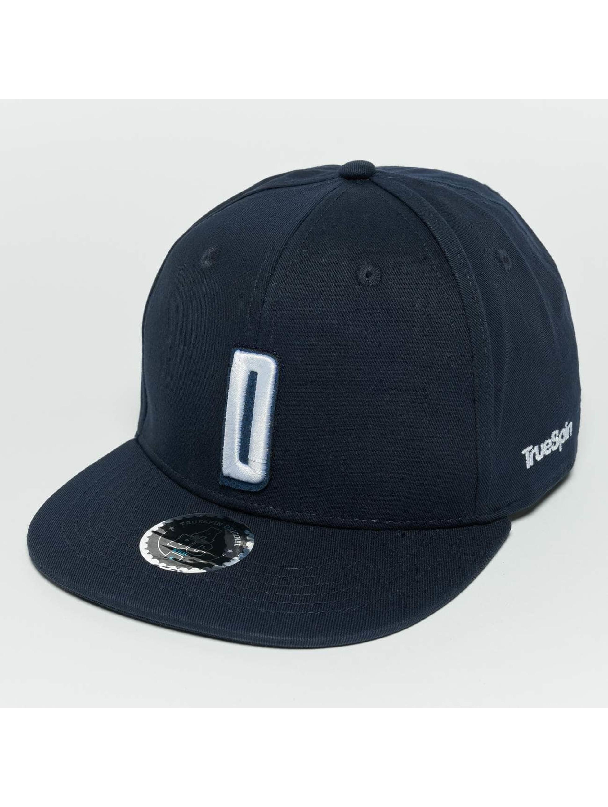 TrueSpin Snapback Caps Kids ABC D blå