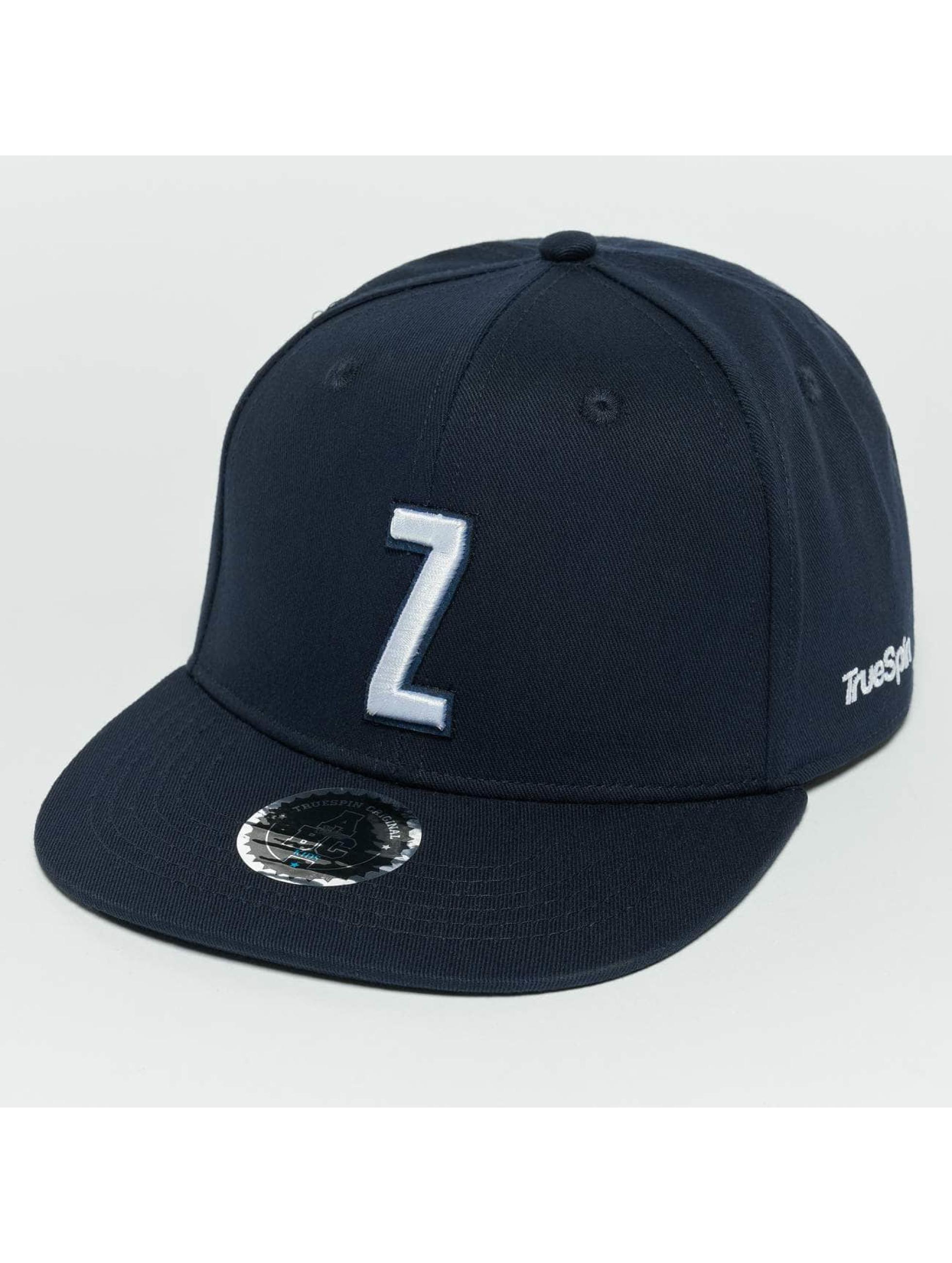 TrueSpin Snapback Caps Kids ABC Z blå