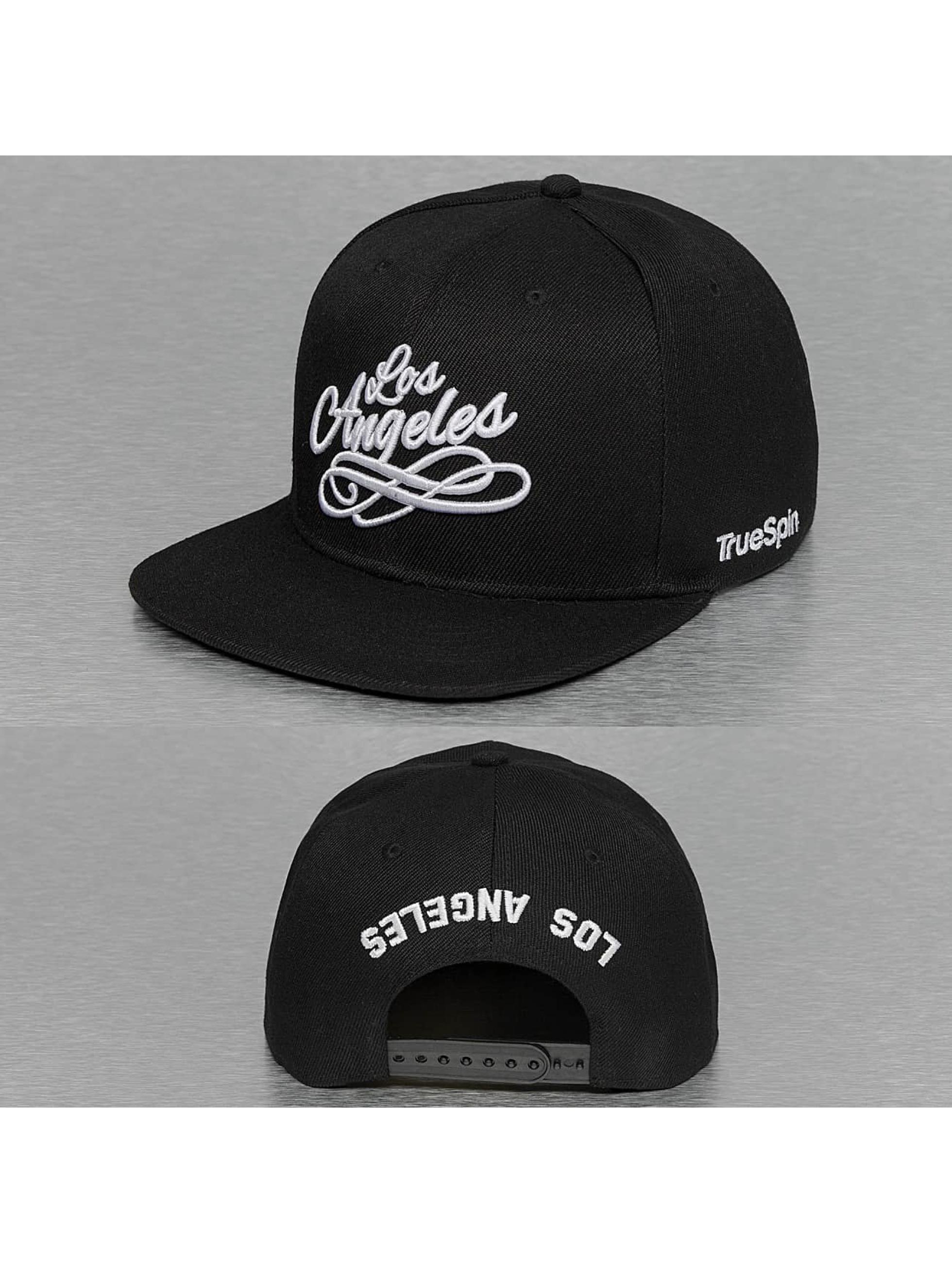 TrueSpin Snapback Caps Los Angeles City czarny
