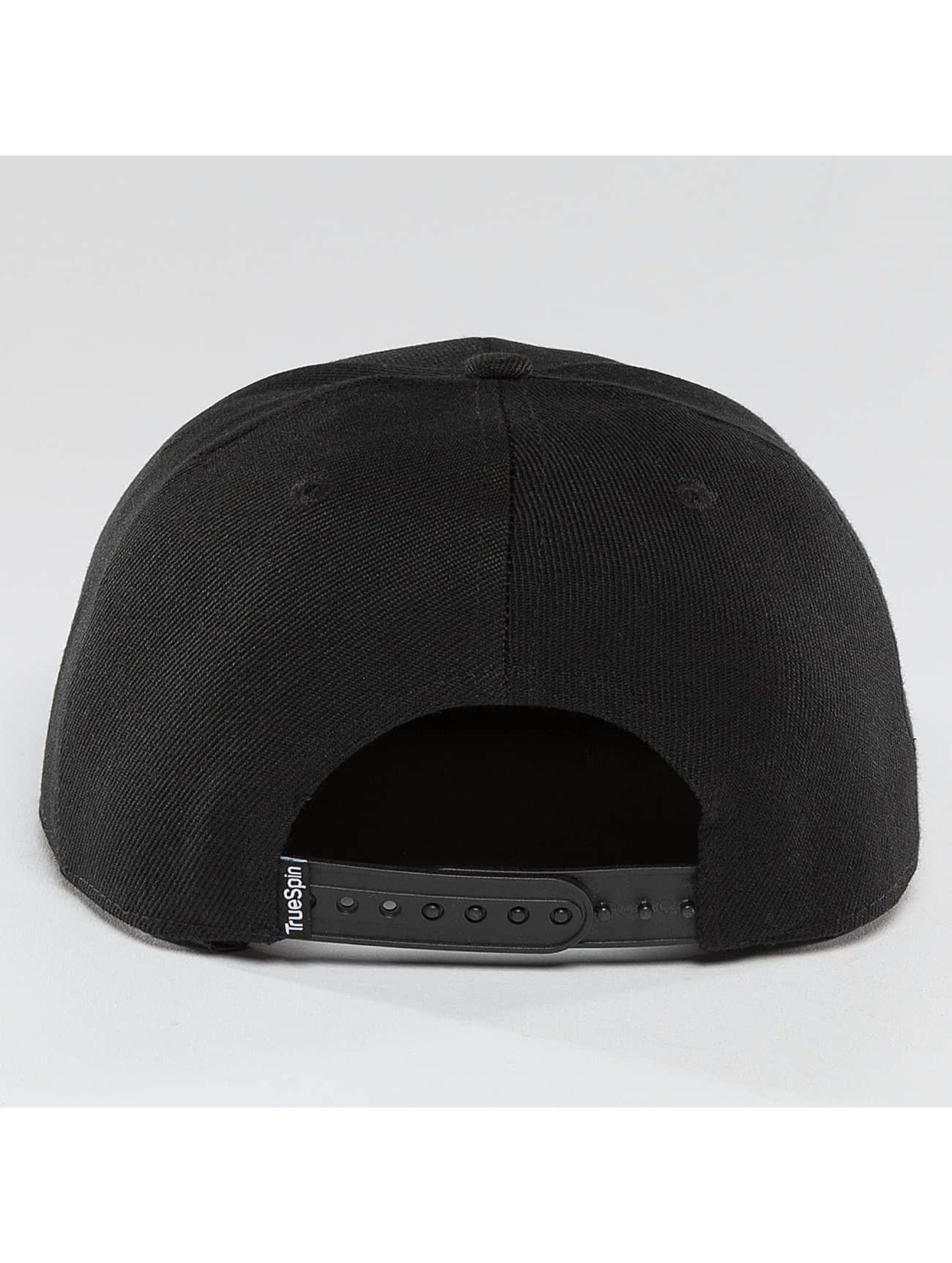 TrueSpin Snapback Caps Blank czarny