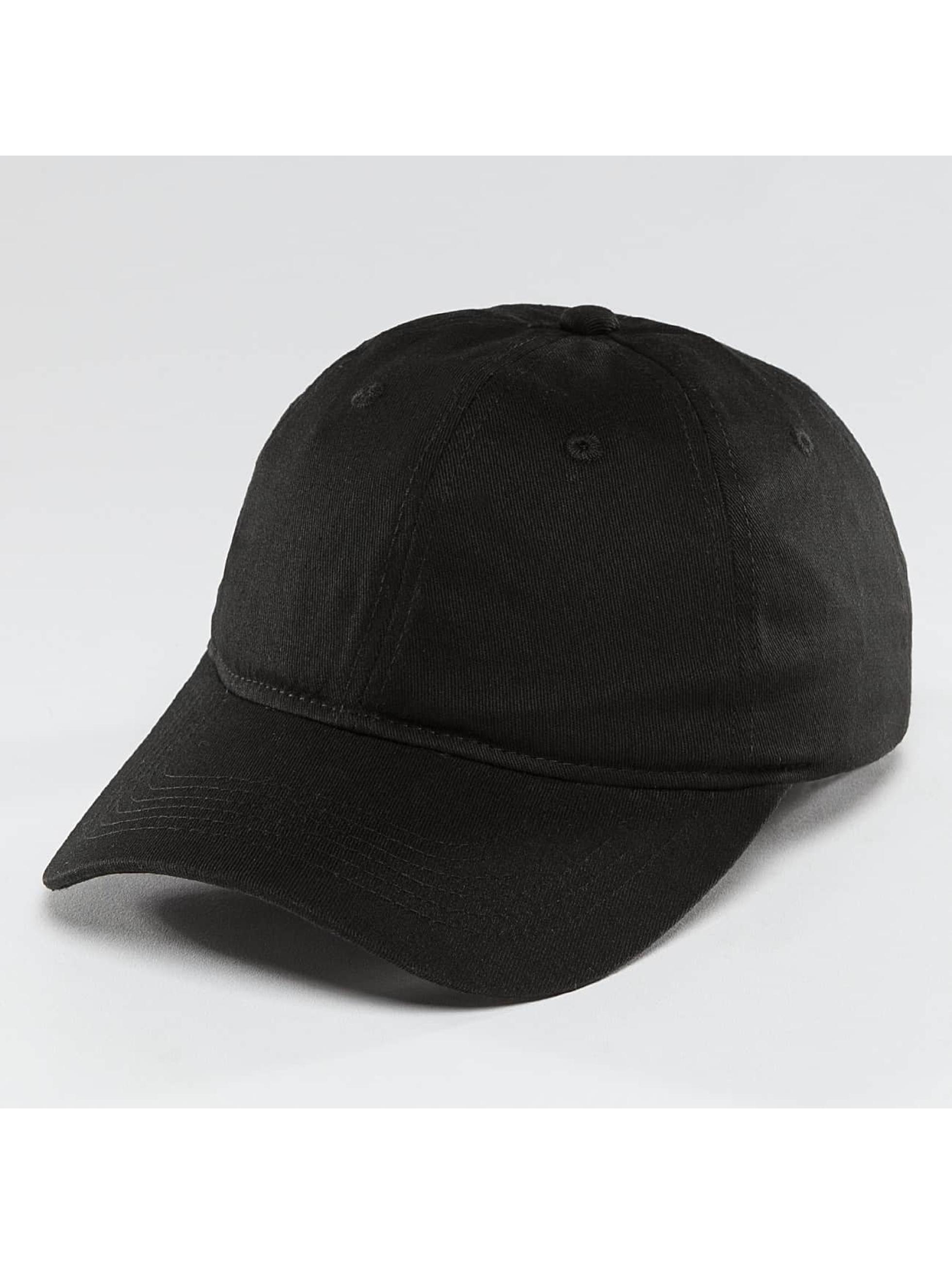 TrueSpin Snapback Caps Blank Round Visor czarny