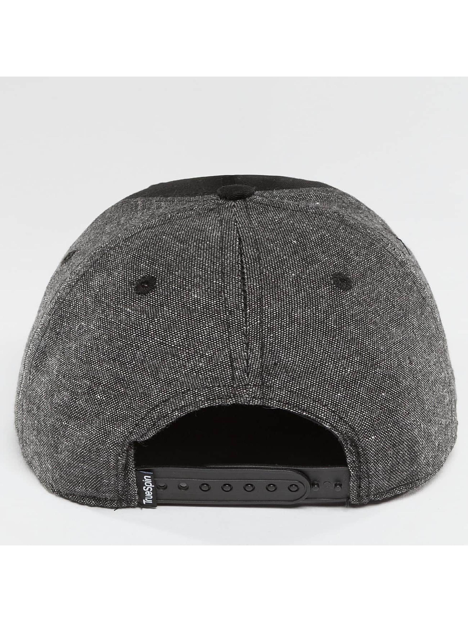 TrueSpin Snapback Caps New Velevet czarny