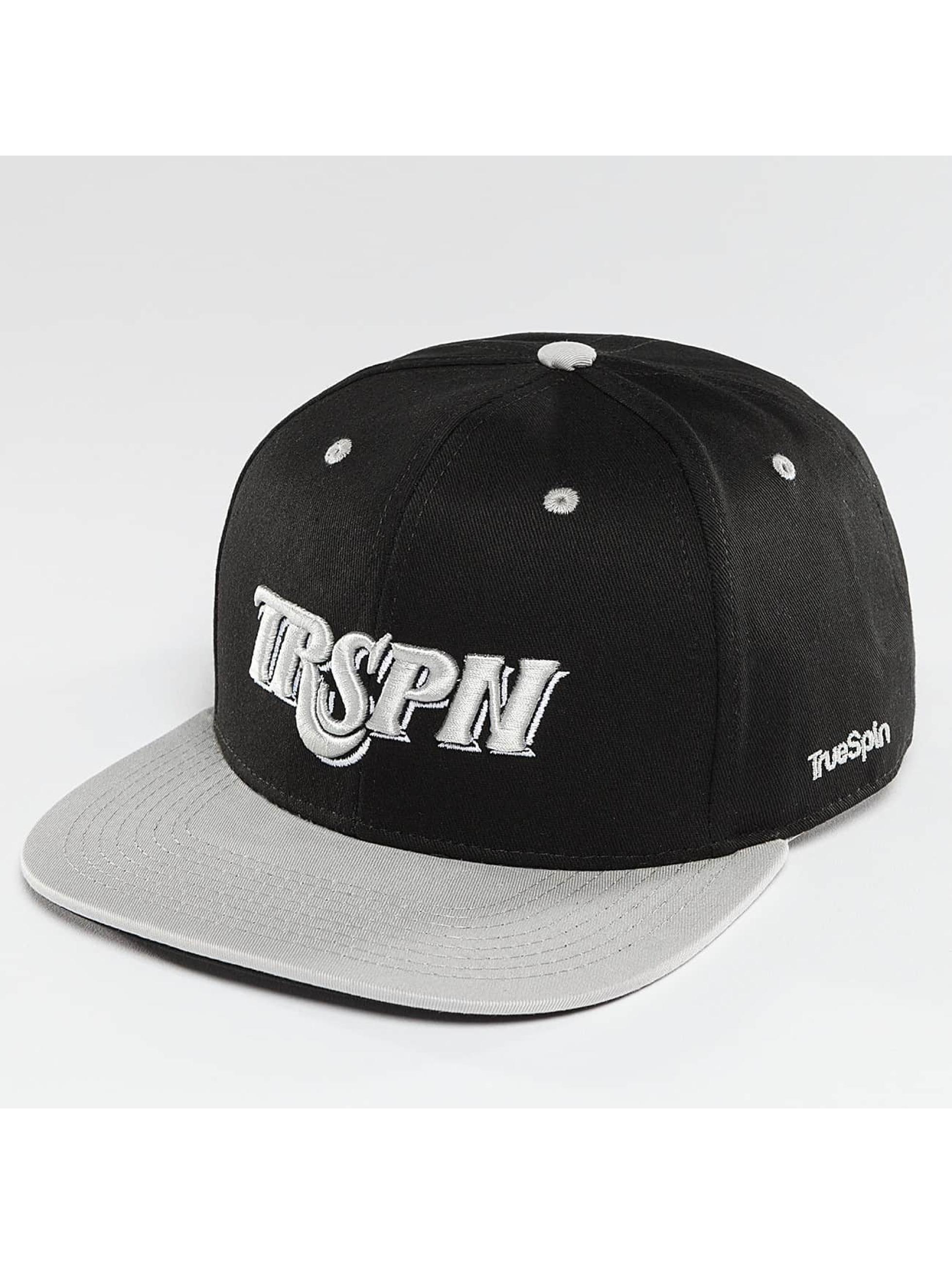 TrueSpin Snapback Caps Team TRSPN czarny