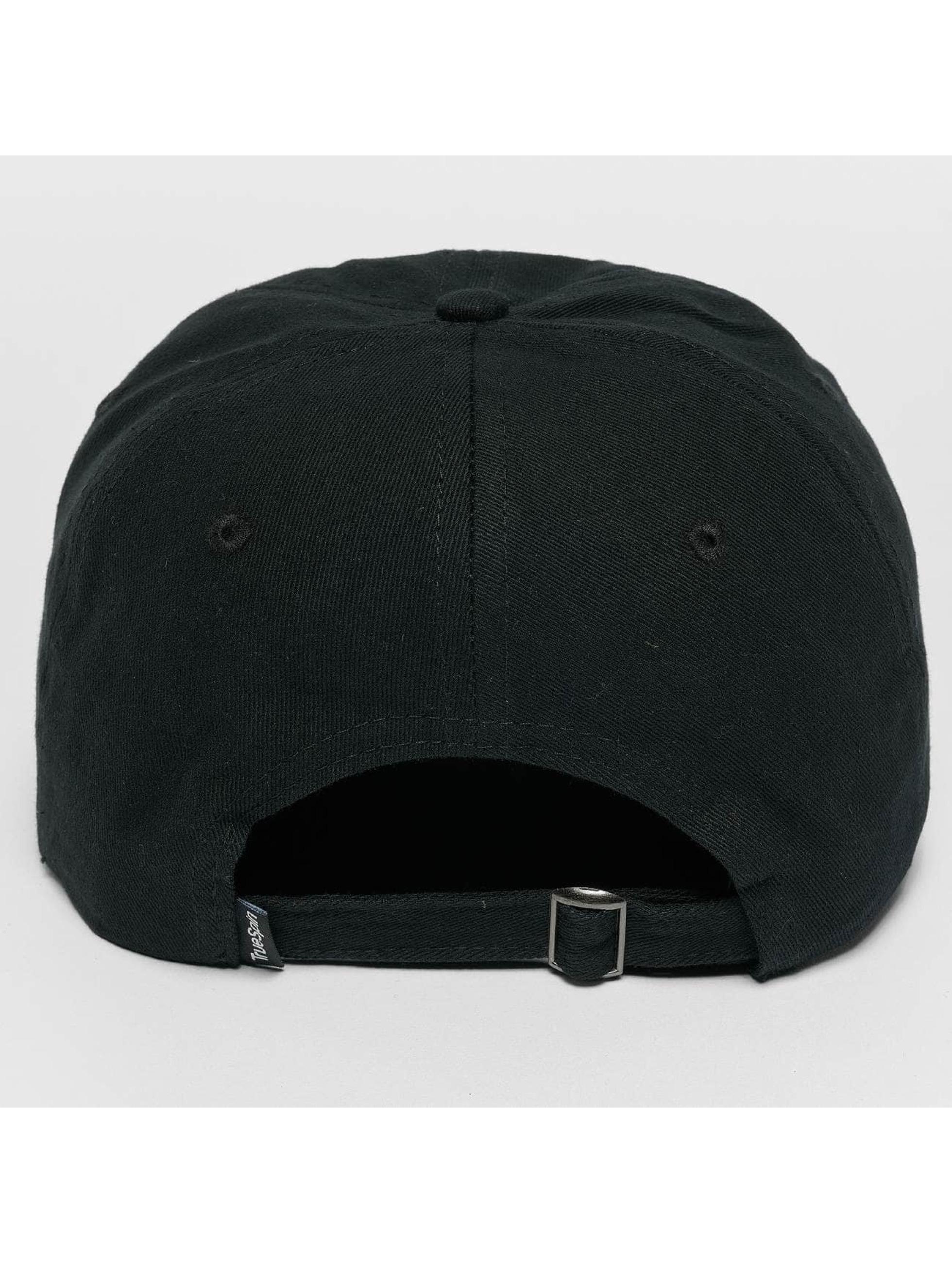 TrueSpin Snapback Caps Tuned Round czarny