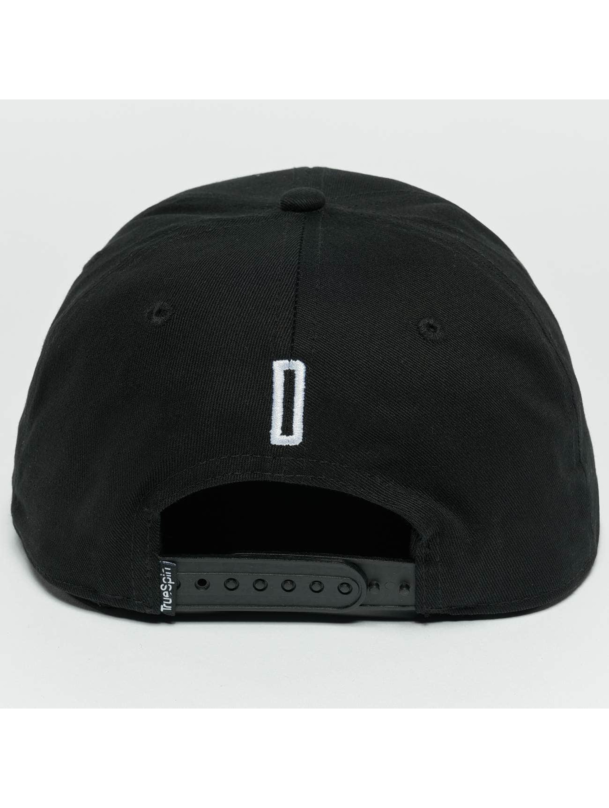 TrueSpin Snapback Caps ABC D czarny