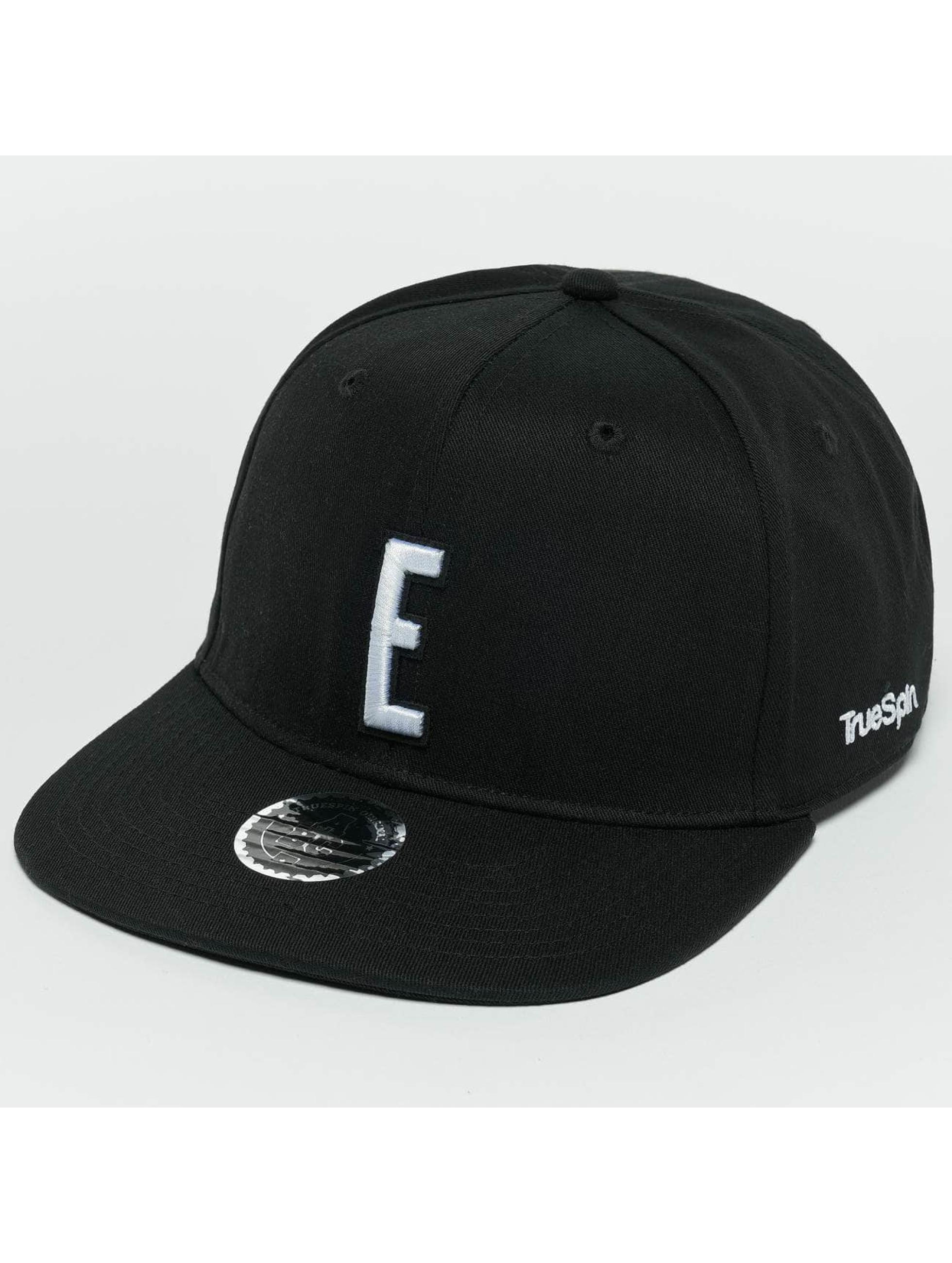 TrueSpin Snapback Caps ABC E czarny
