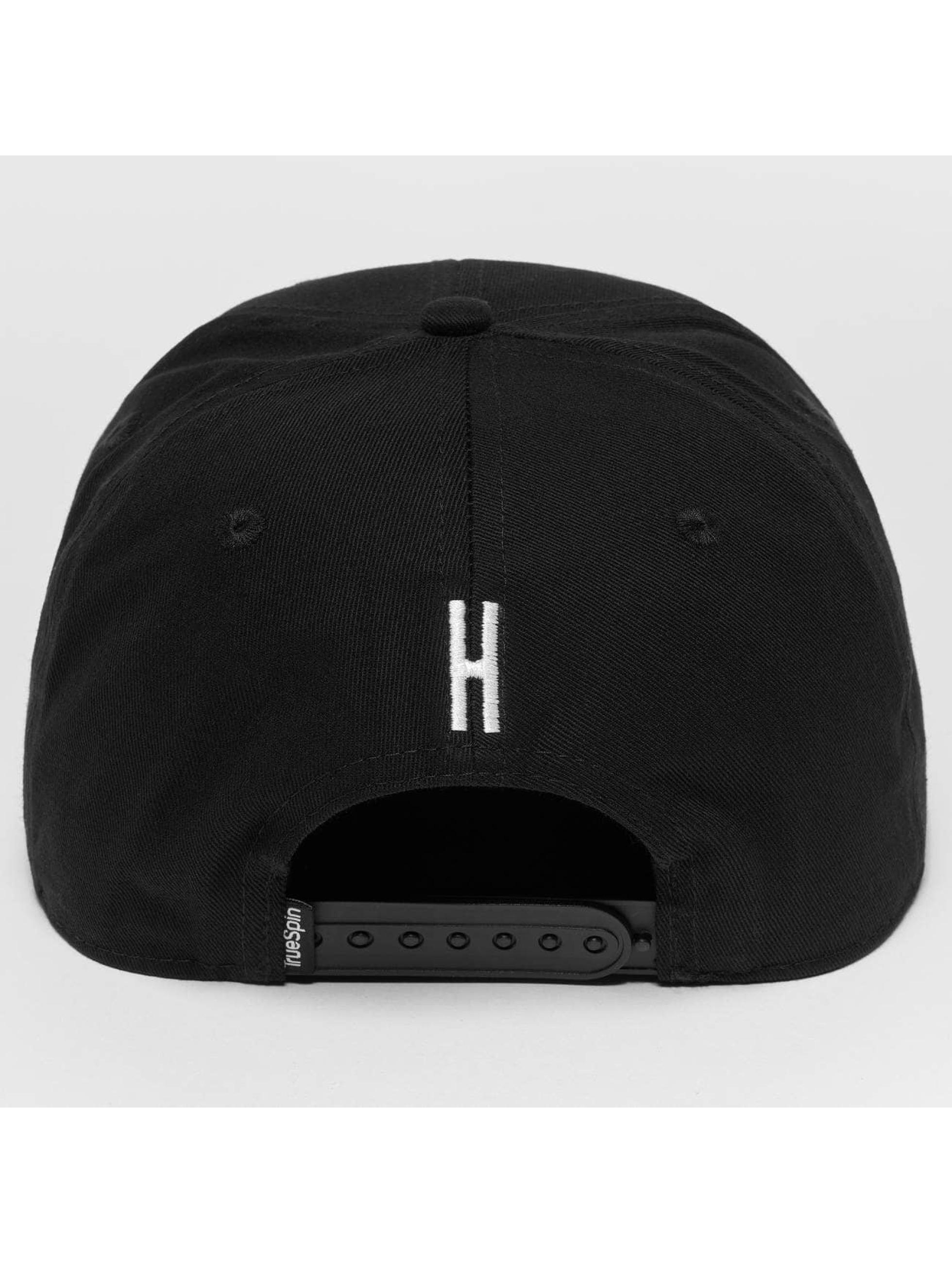 TrueSpin Snapback Caps ABC H czarny