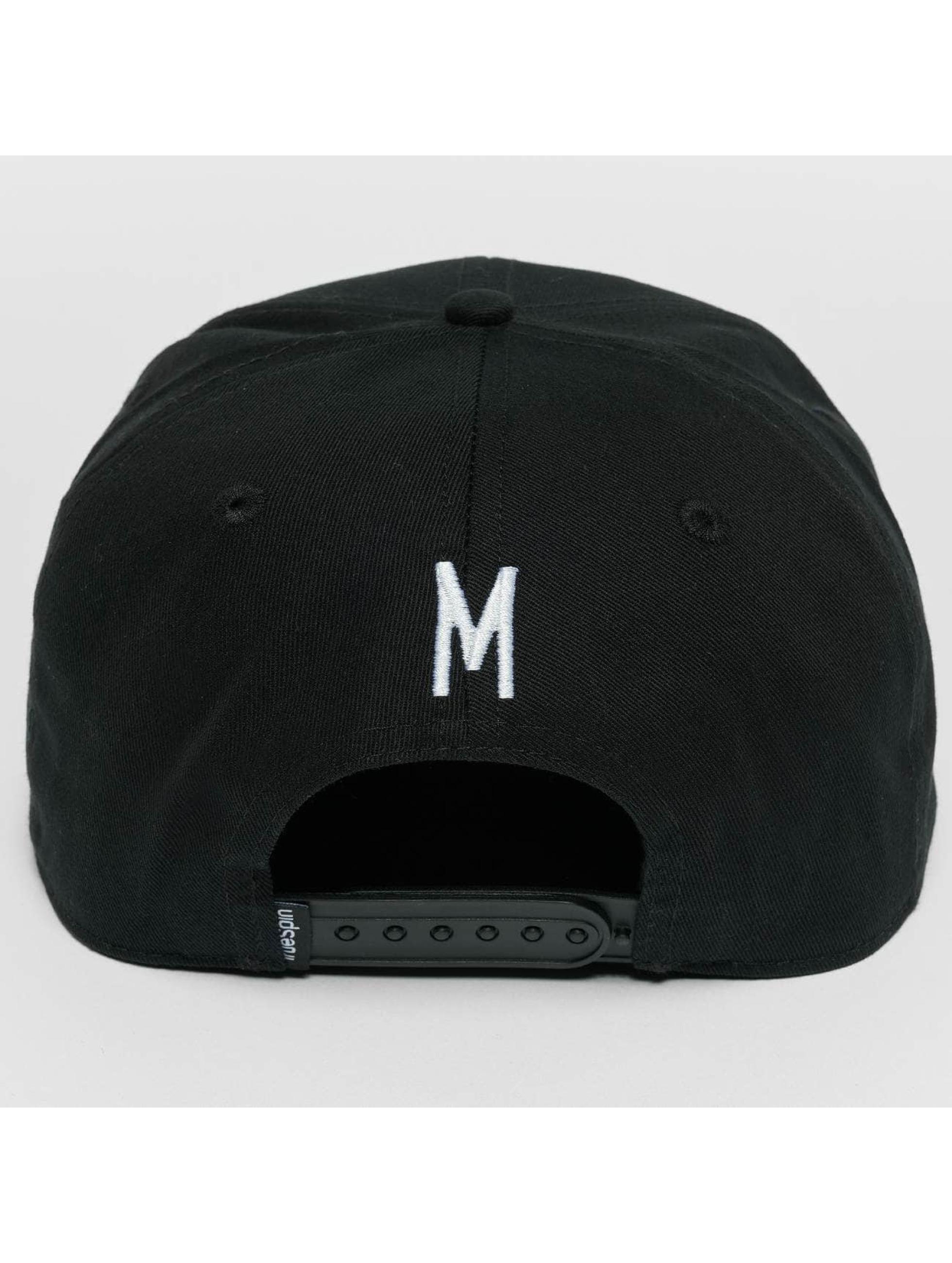 TrueSpin Snapback Caps ABC M czarny